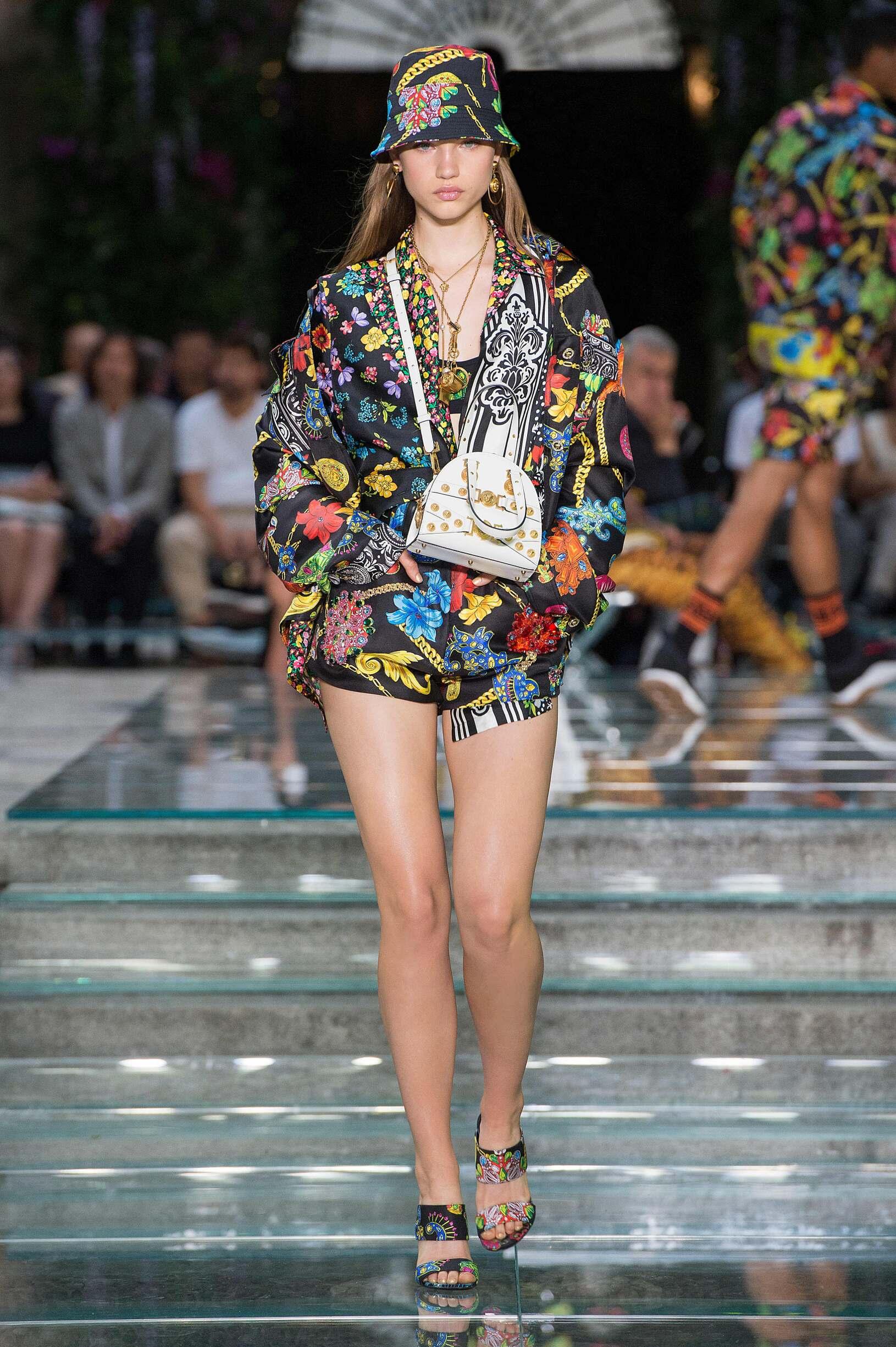 Versace 2019 Womenswear Milan
