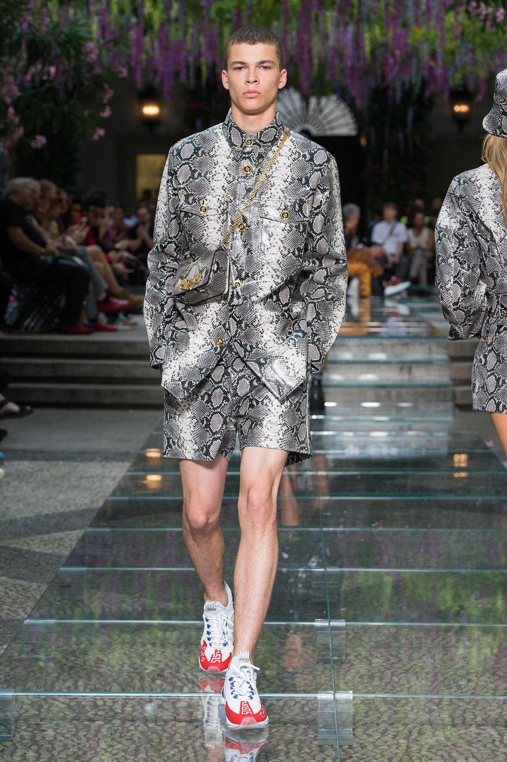 Versace Milan Fashion Week Menswear