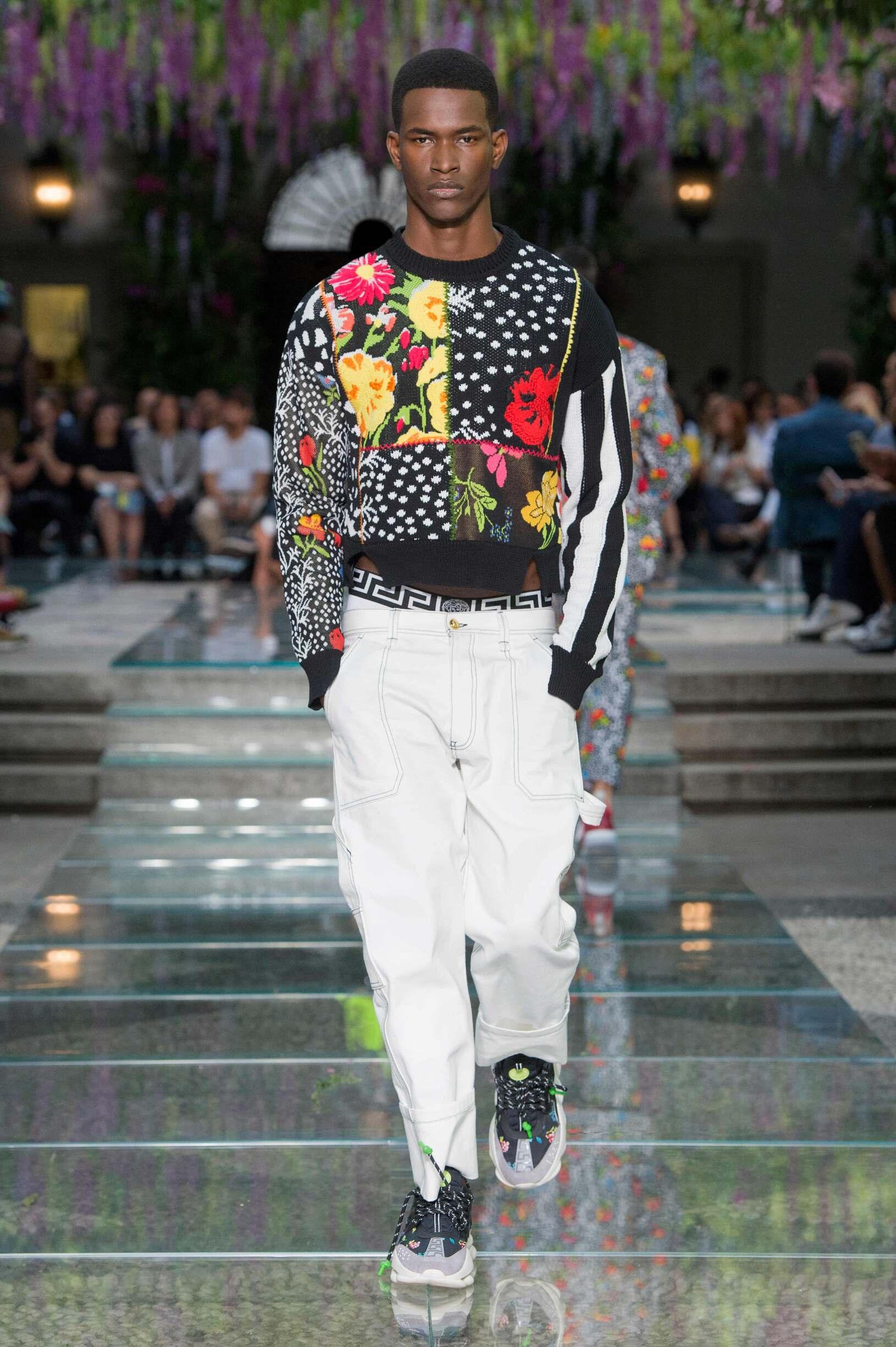 Versace Spring 2019 Catwalk