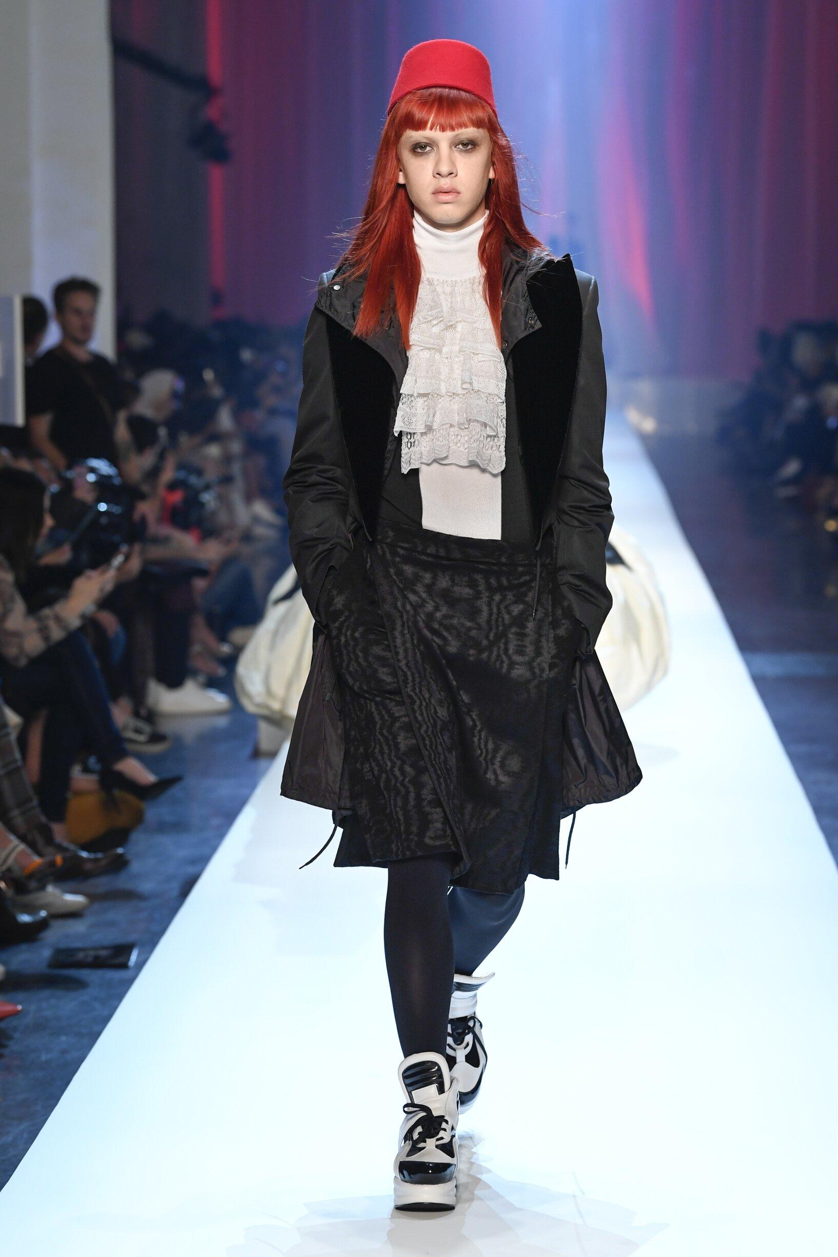 2018 Jean-Paul Gaultier Haute Couture Catwalk Paris Fashion Week