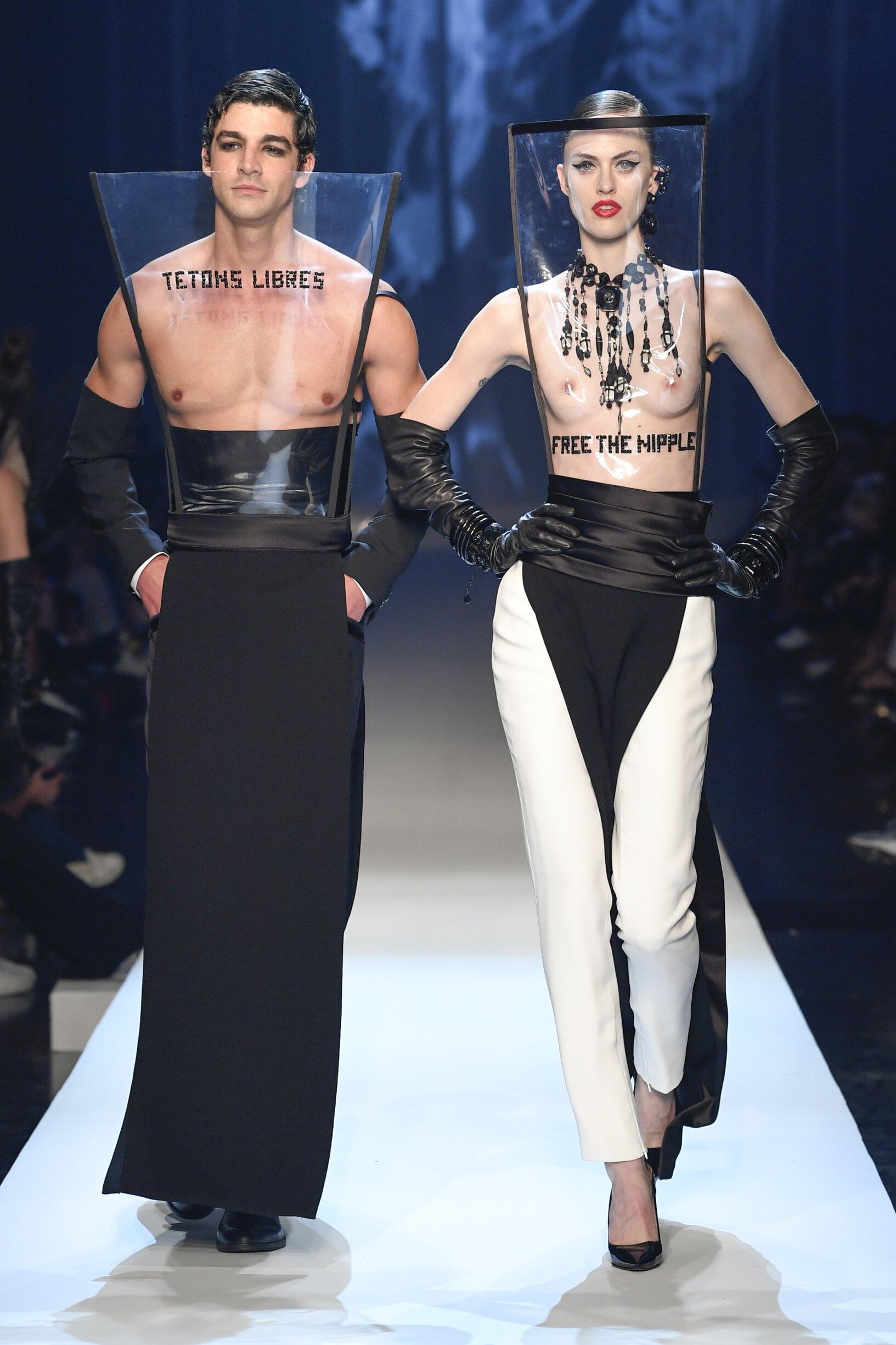 2018 Jean-Paul Gaultier Haute Couture FW Runway Show