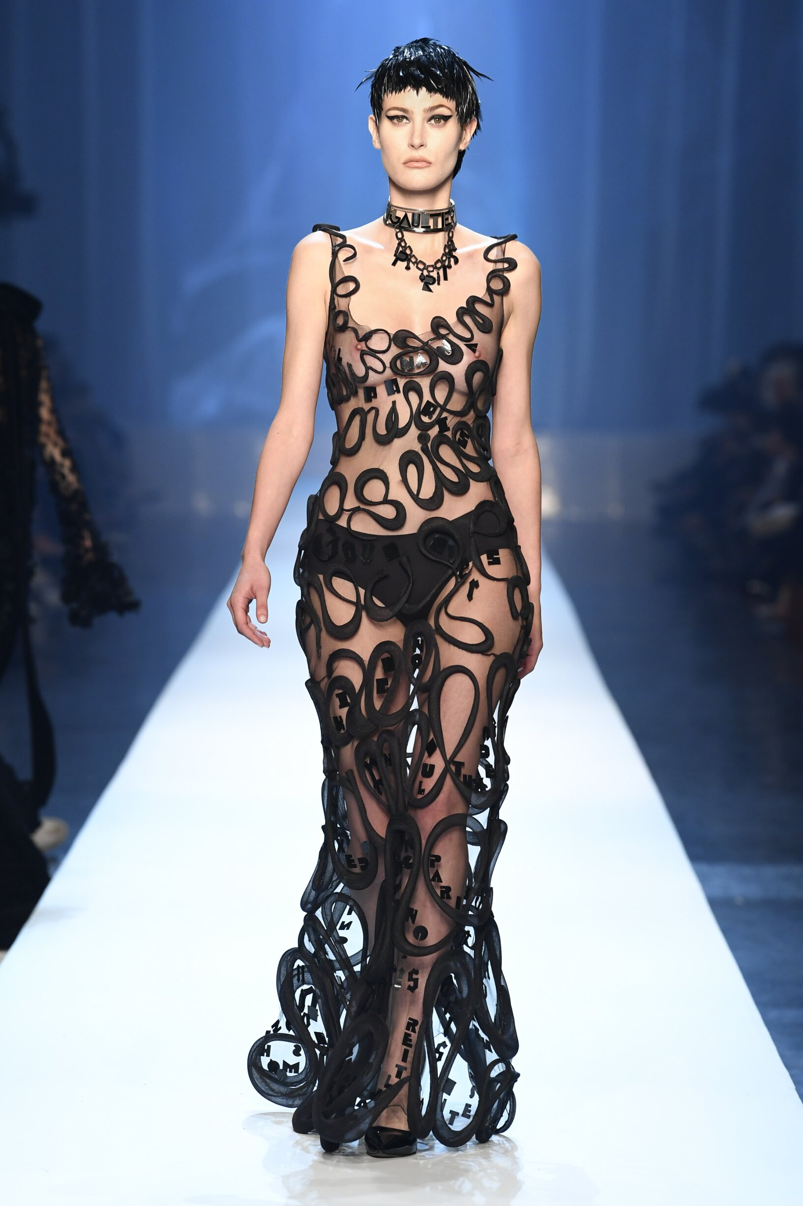 2018 Jean-Paul Gaultier Haute Couture Fall Catwalk