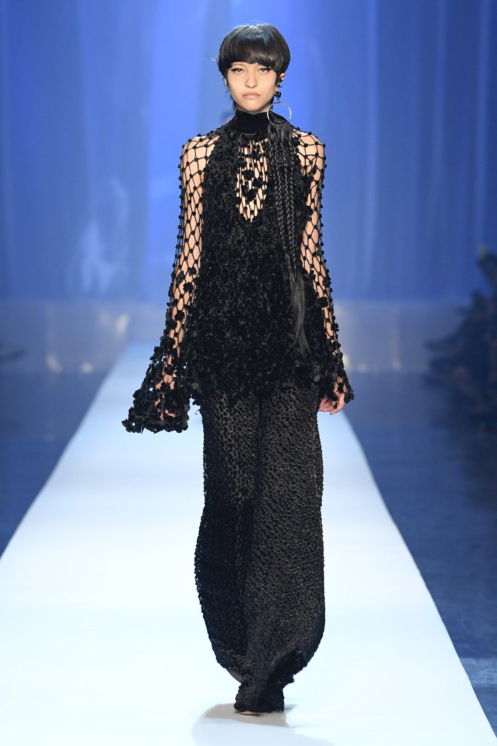 2018 Jean-Paul Gaultier Haute Couture Fall Winter Woman