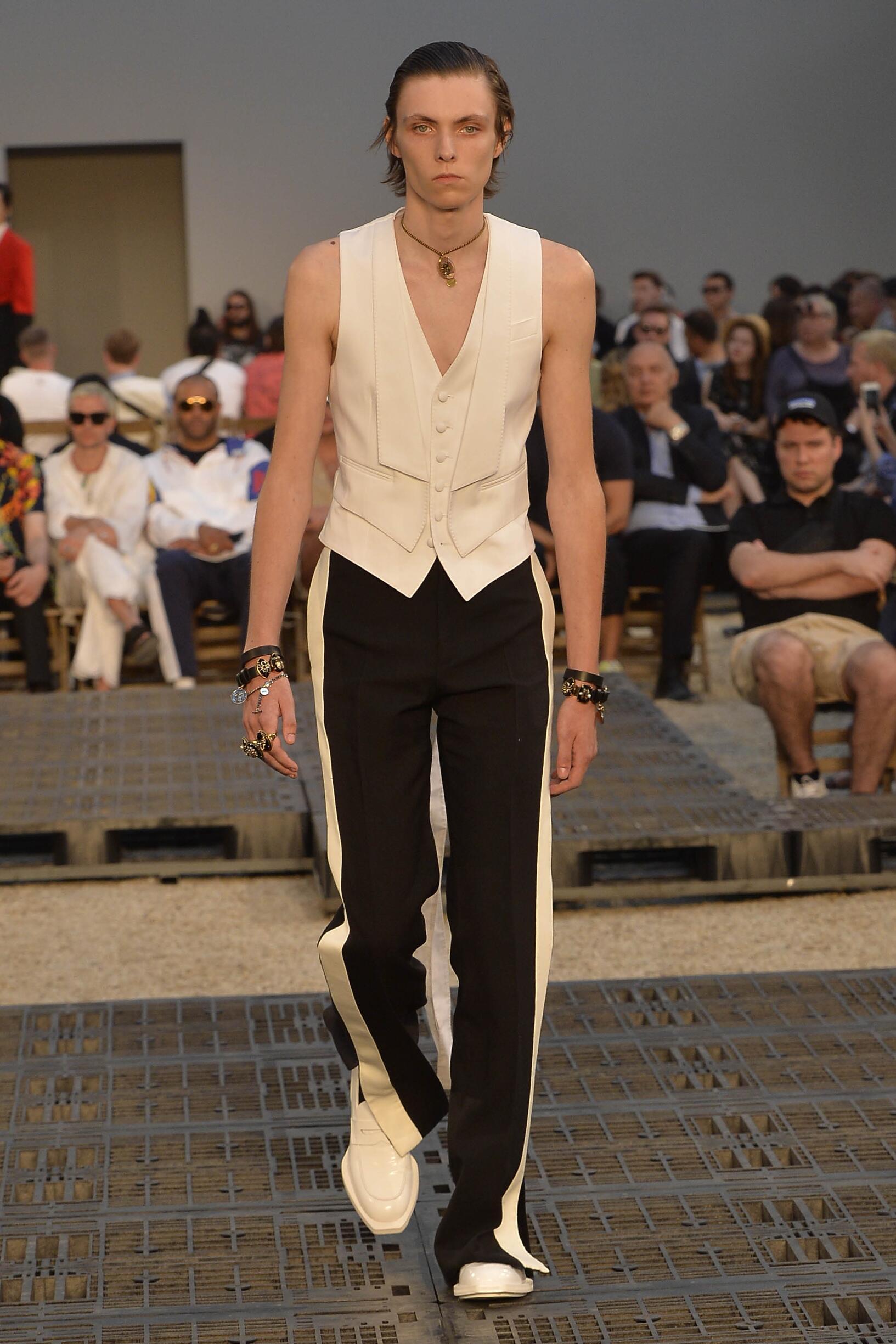 2019 Alexander McQueen Spring Summer Man