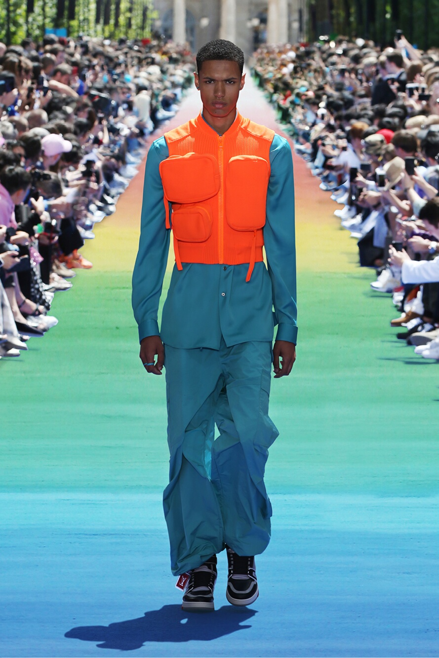 2019 Catwalk Louis Vuitton Man Fashion Show Summer