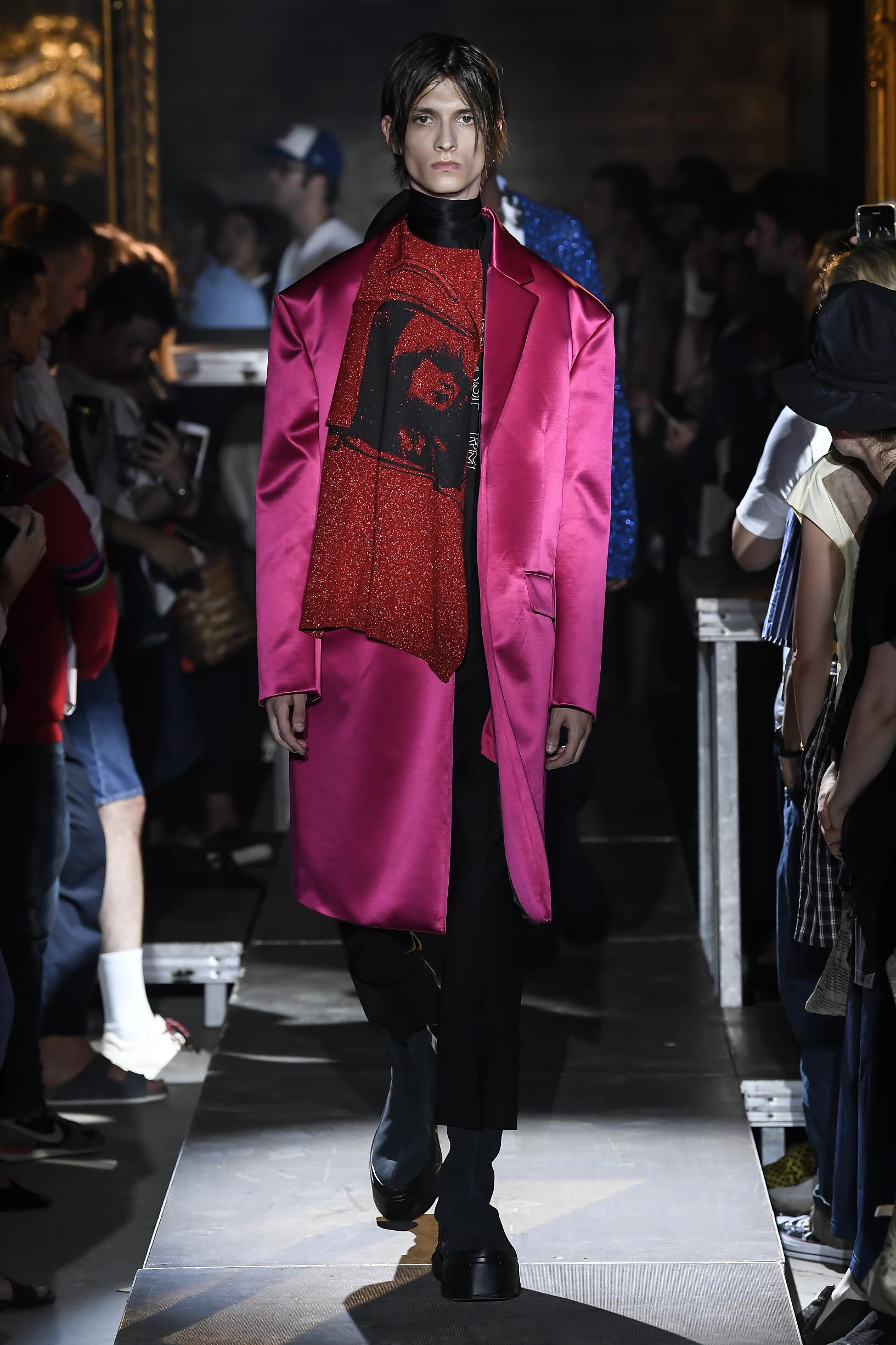 2019 Catwalk Raf Simons Summer