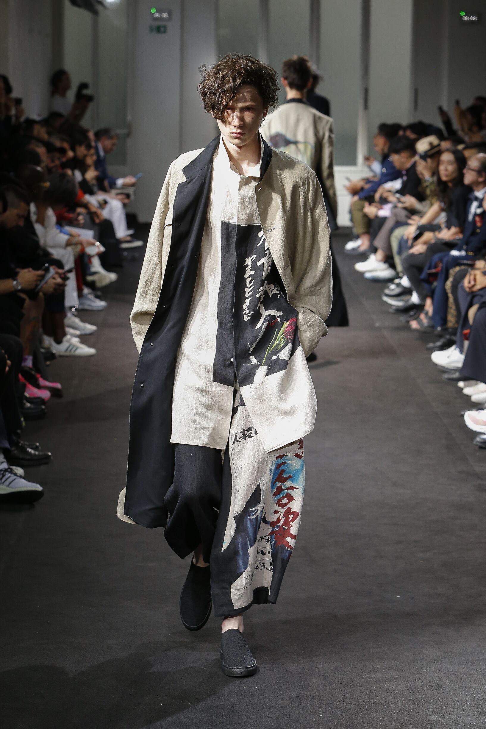 2019 Man Style Yohji Yamamoto