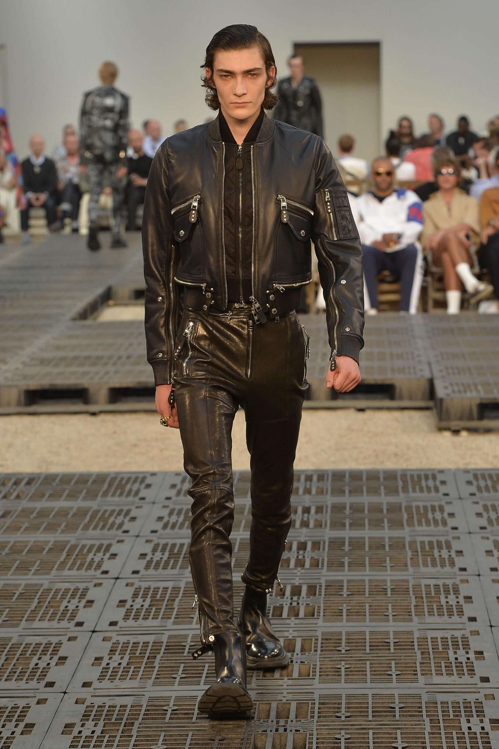Alexander McQueen Paris Fashion Week Menswear