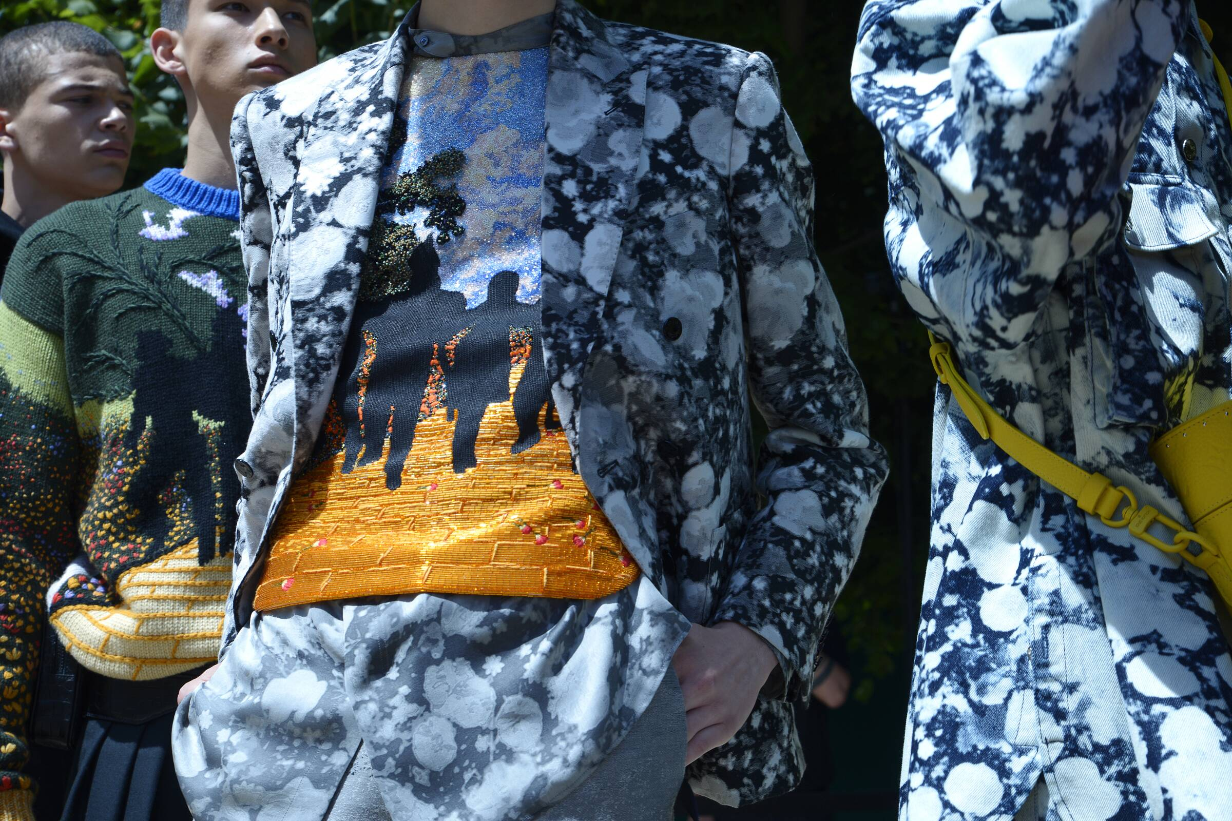 Backstage Louis Vuitton Models Spring 2019 Collection Paris Fashion Week