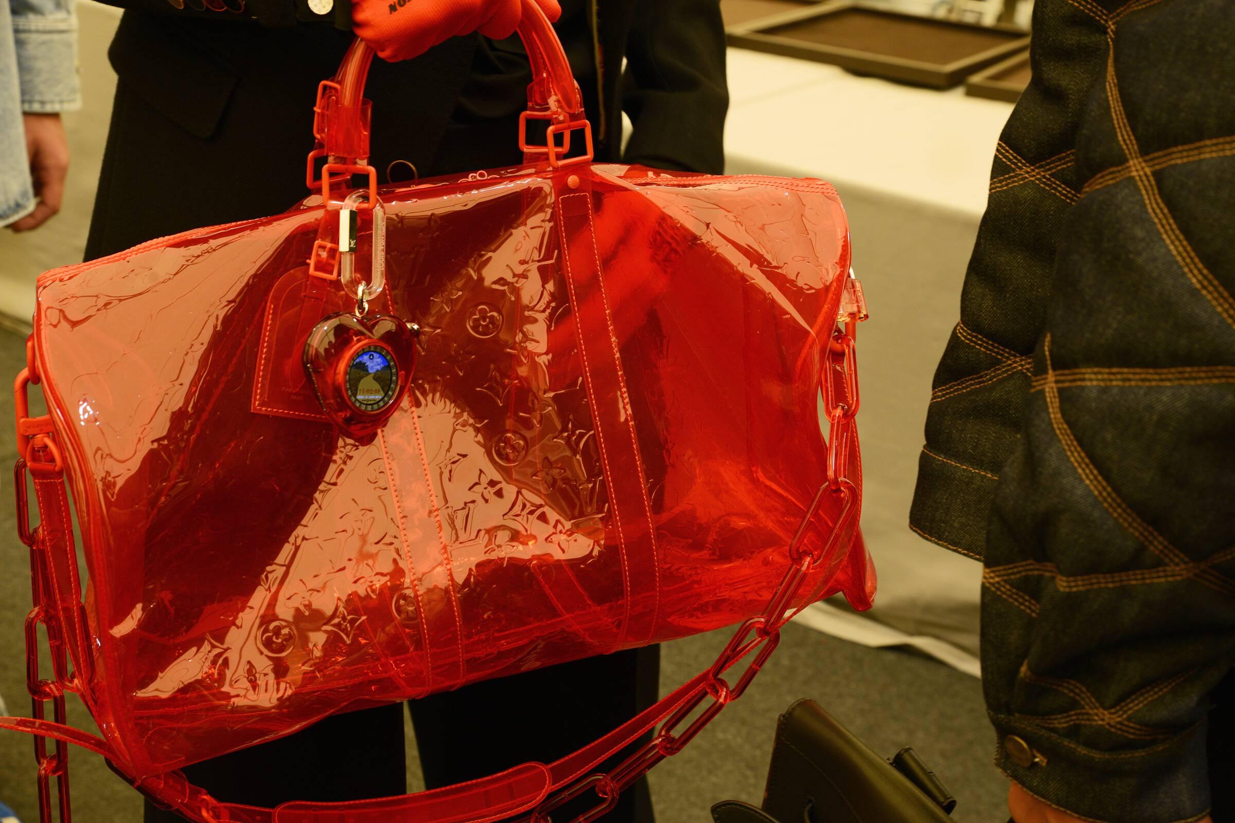 Bag Detail Backstage Louis Vuitton