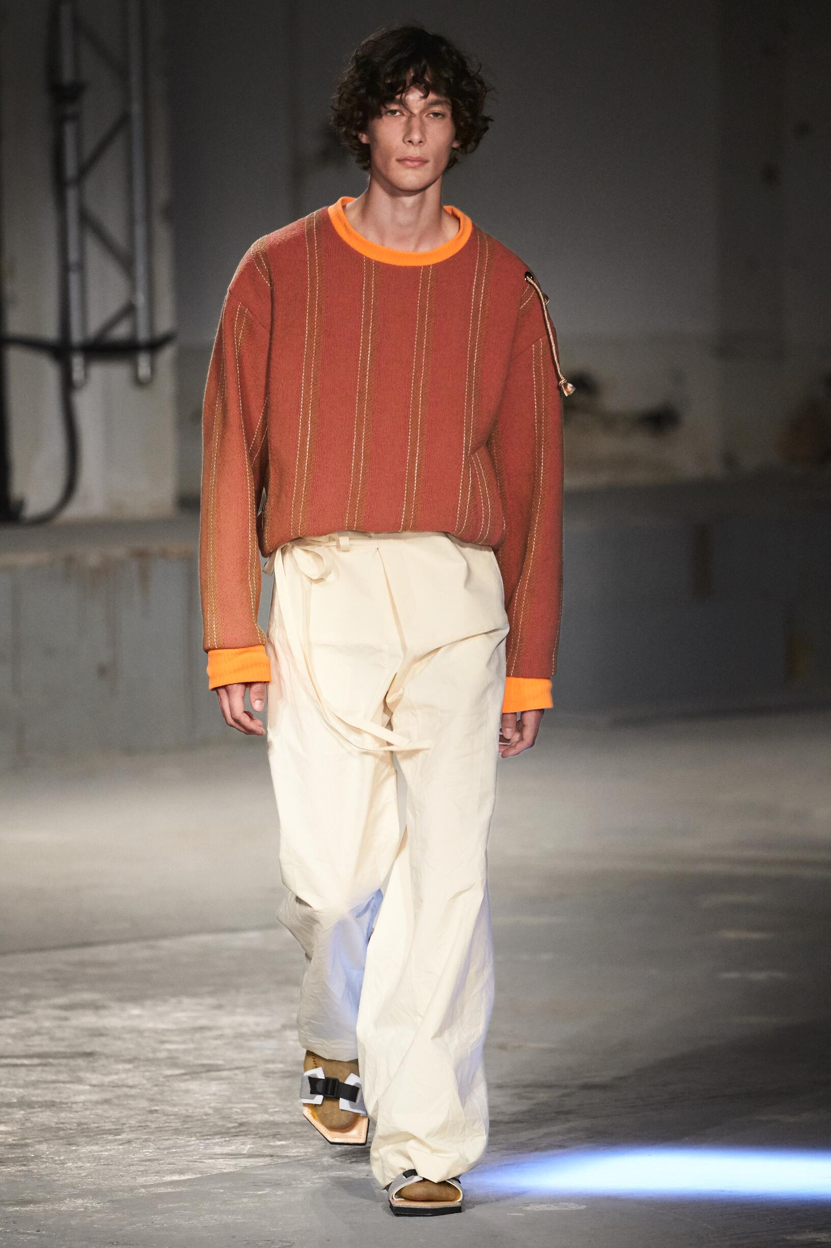 Catwalk Acne Studios Man Fashion Show Summer 2019
