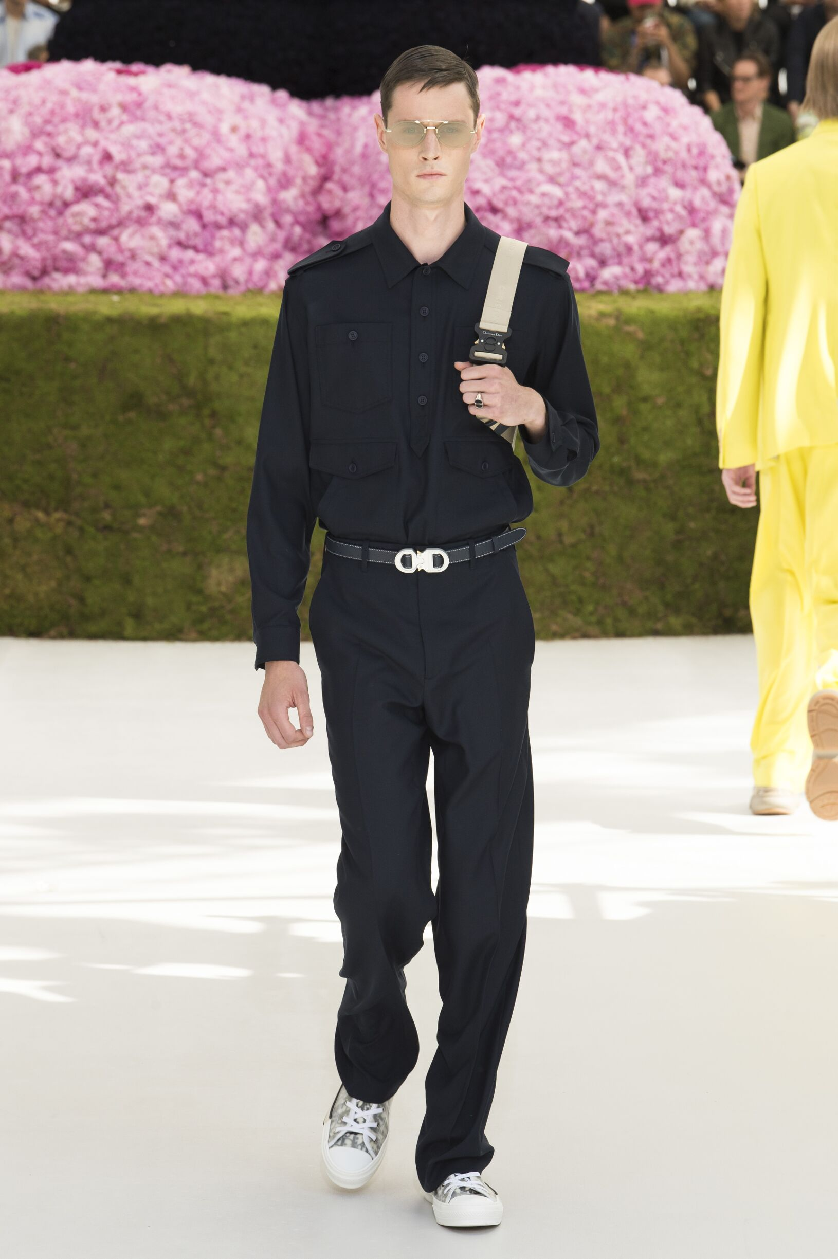 Catwalk Dior Man Fashion Show Summer 2019