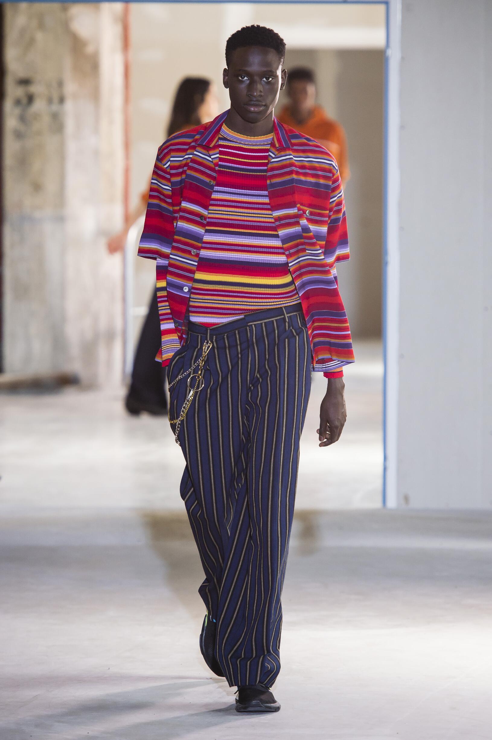 Catwalk Études Man Fashion Show Summer 2019