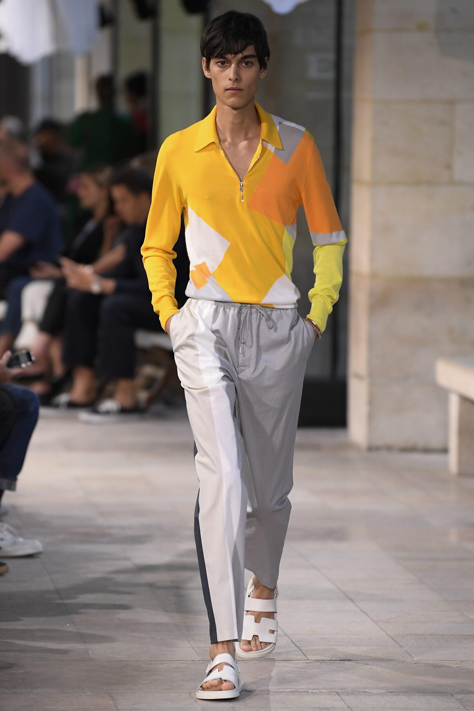 Catwalk Hermès Man Fashion Show Summer 2019