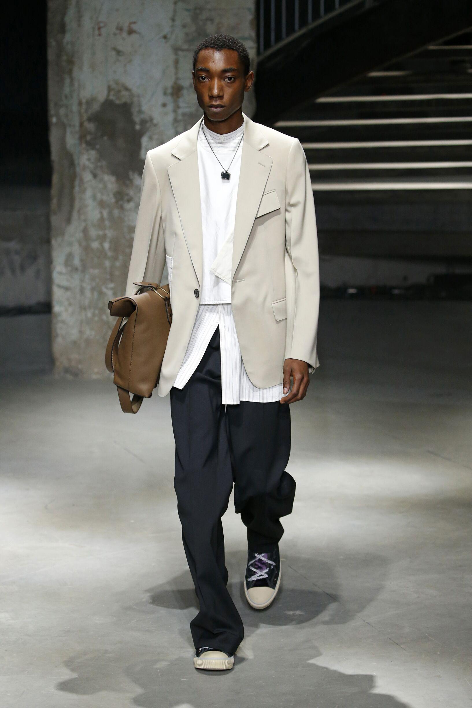 Catwalk Lanvin Man Fashion Show Summer 2019
