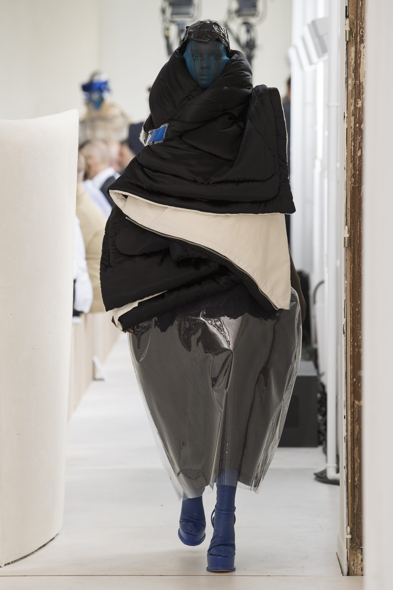 Catwalk Maison Margiela Artisanal Women Fashion Show Winter 2018