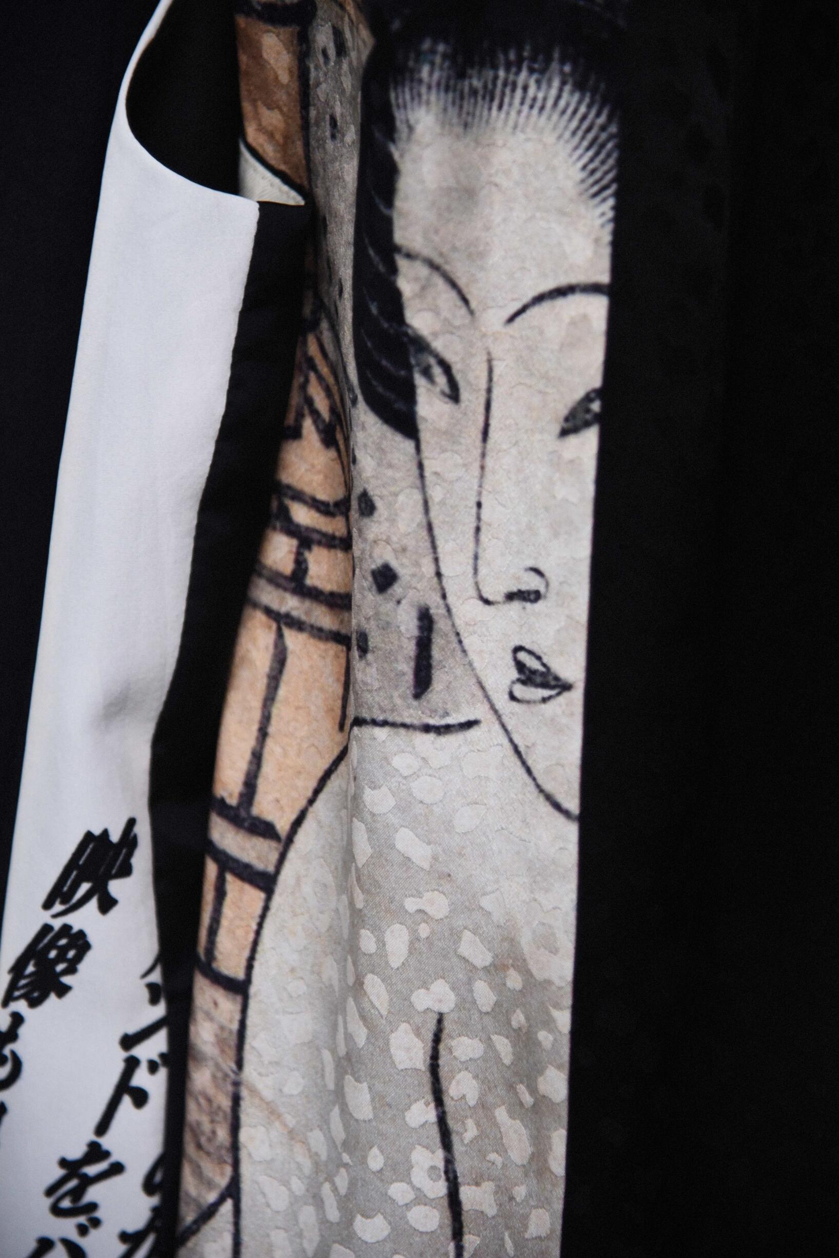 Detail 2019 Backstage Yohji Yamamoto