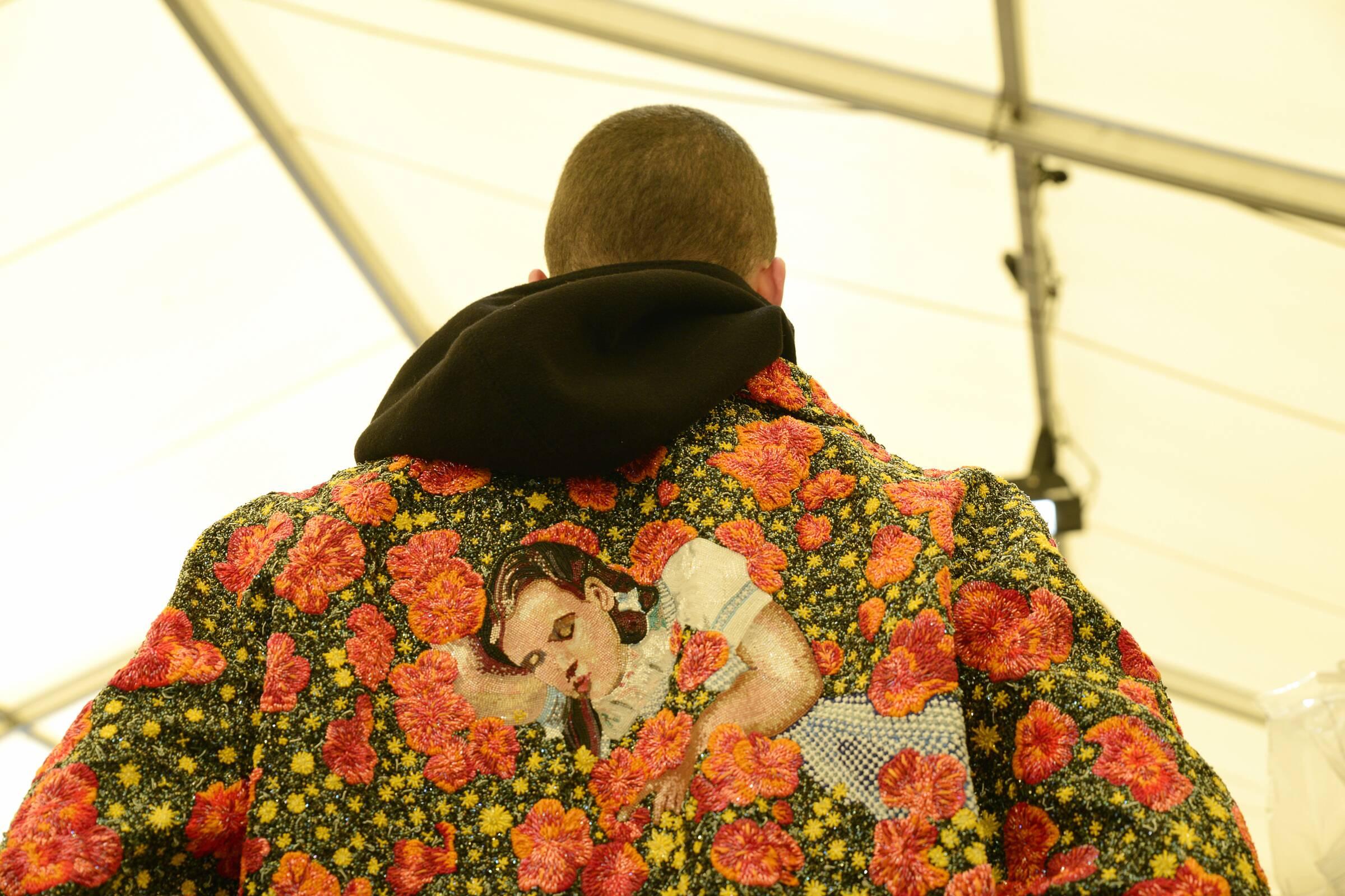 Detail Backstage Louis Vuitton
