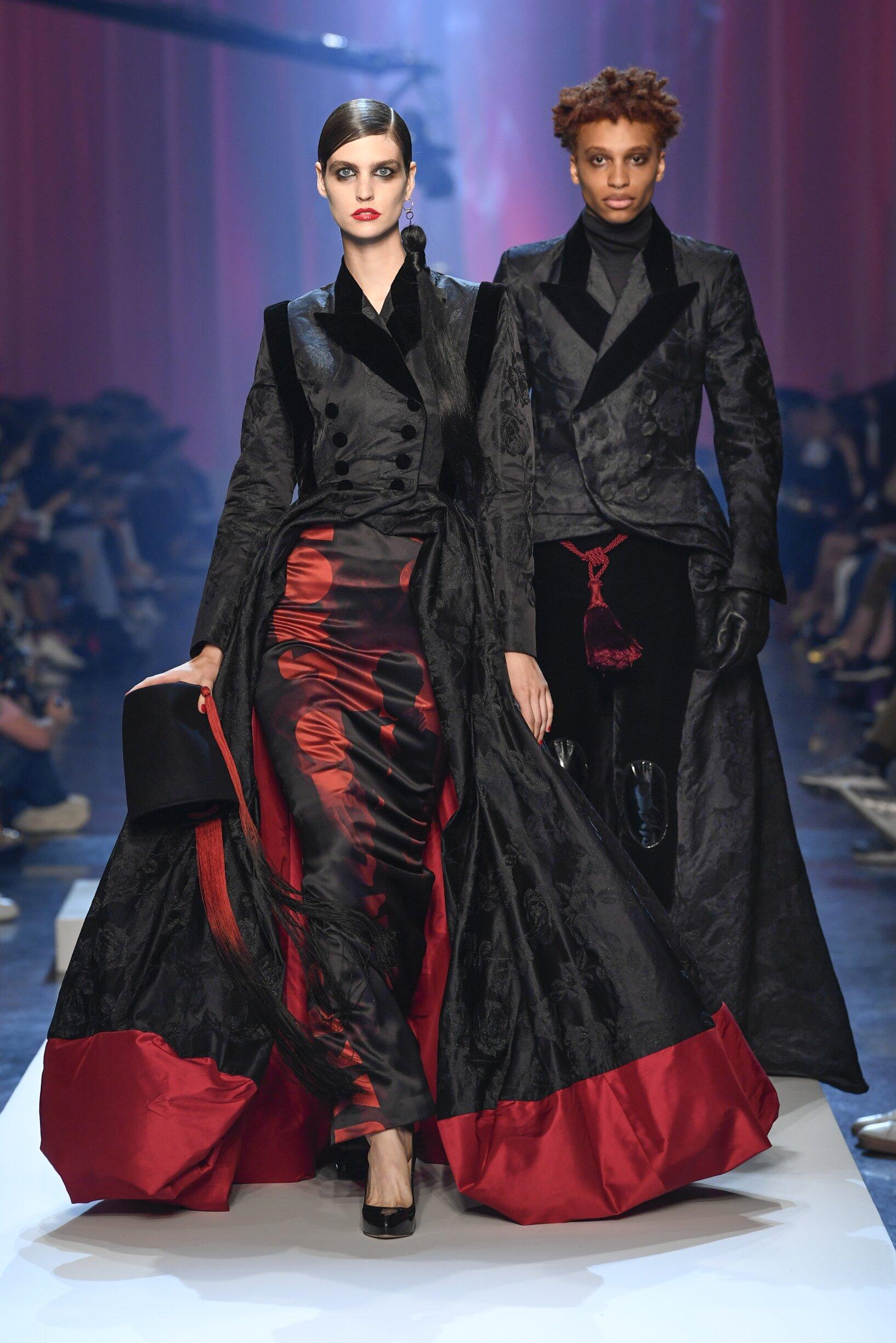 FW 2018 19 Jean-Paul Gaultier Haute Couture Fashion Show Paris Fashion Week