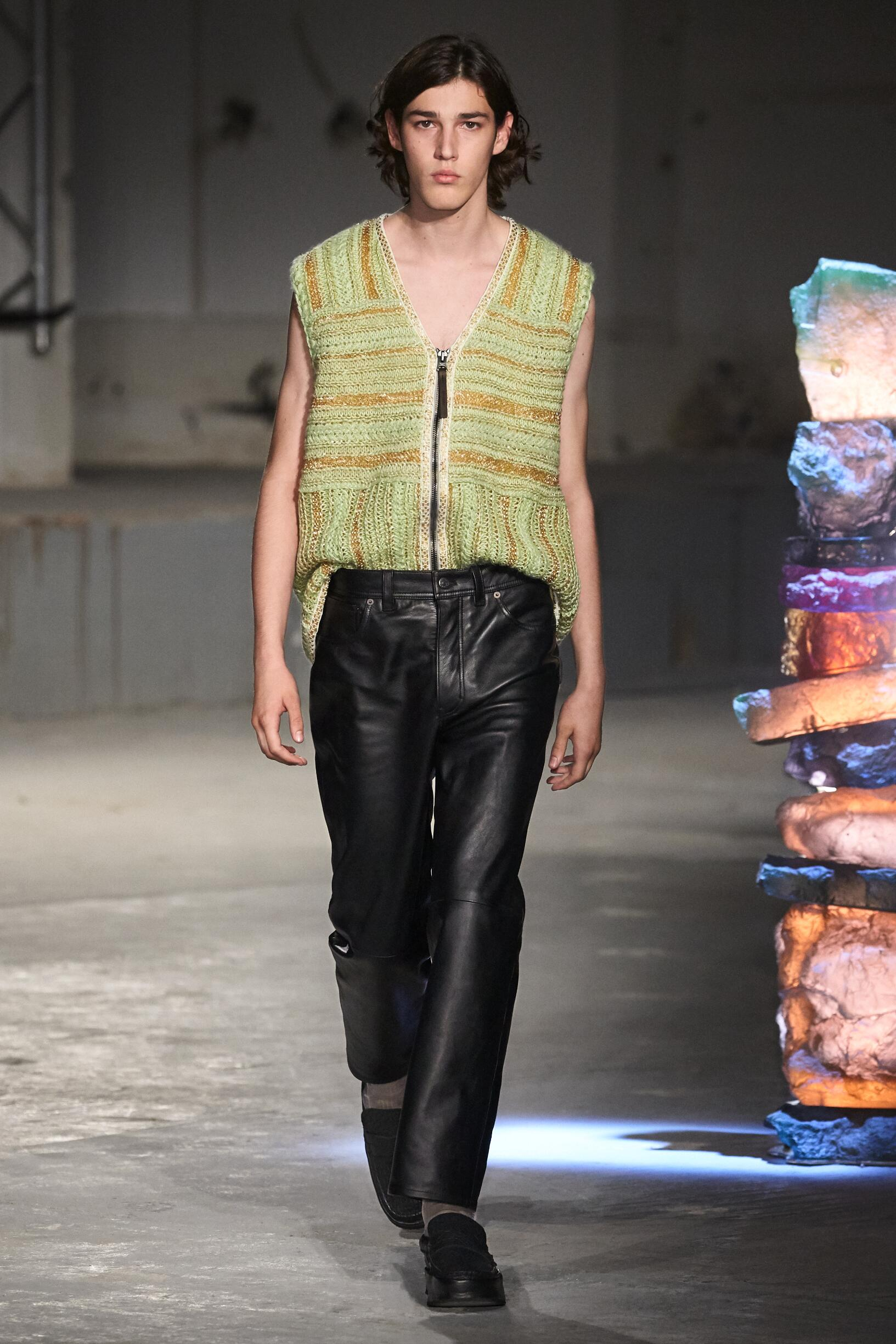 Fashion 2019 Catwalk Acne Studios Summer Man Collection
