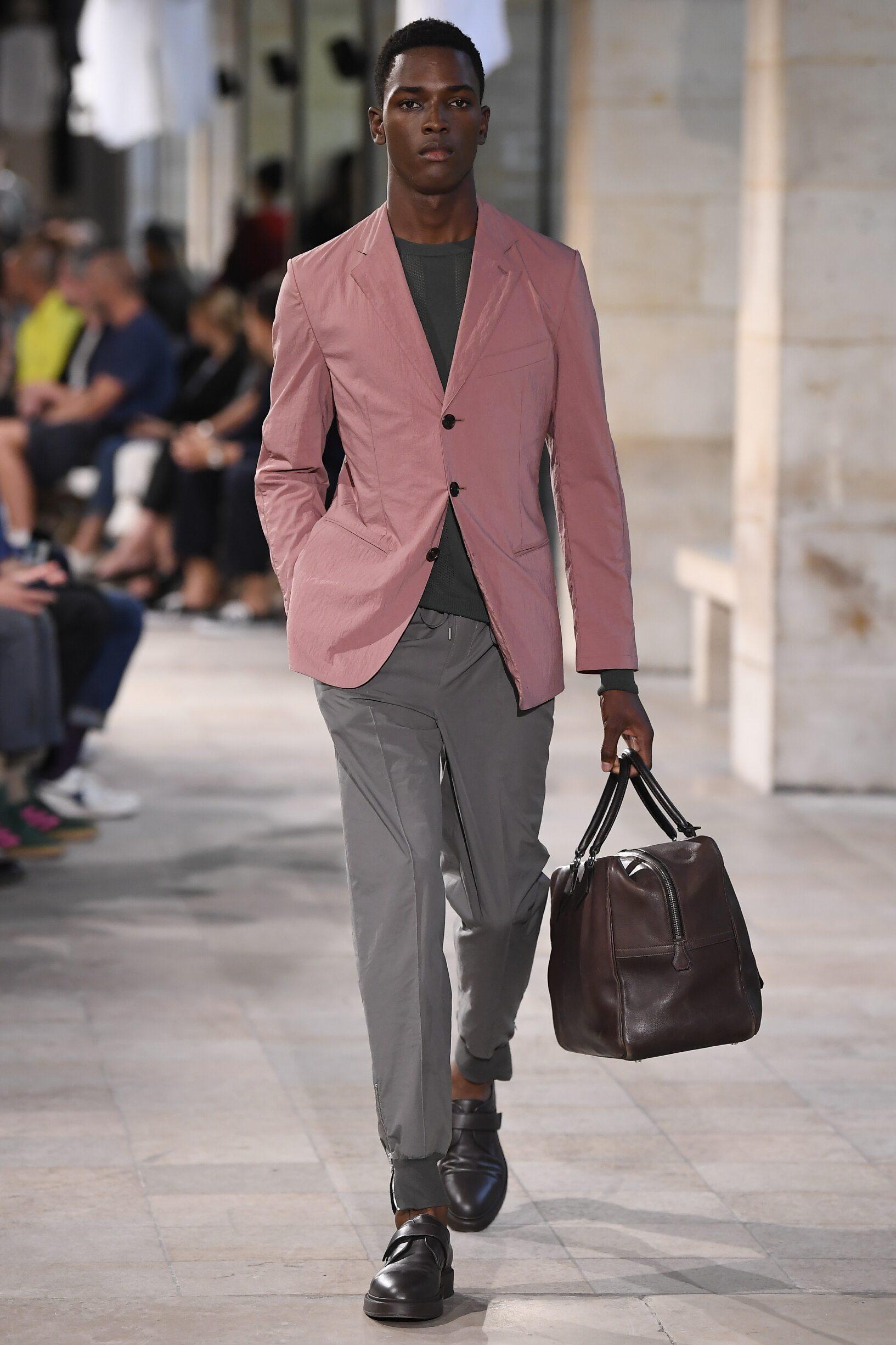 Fashion 2019 Catwalk Hermès Summer Man Collection
