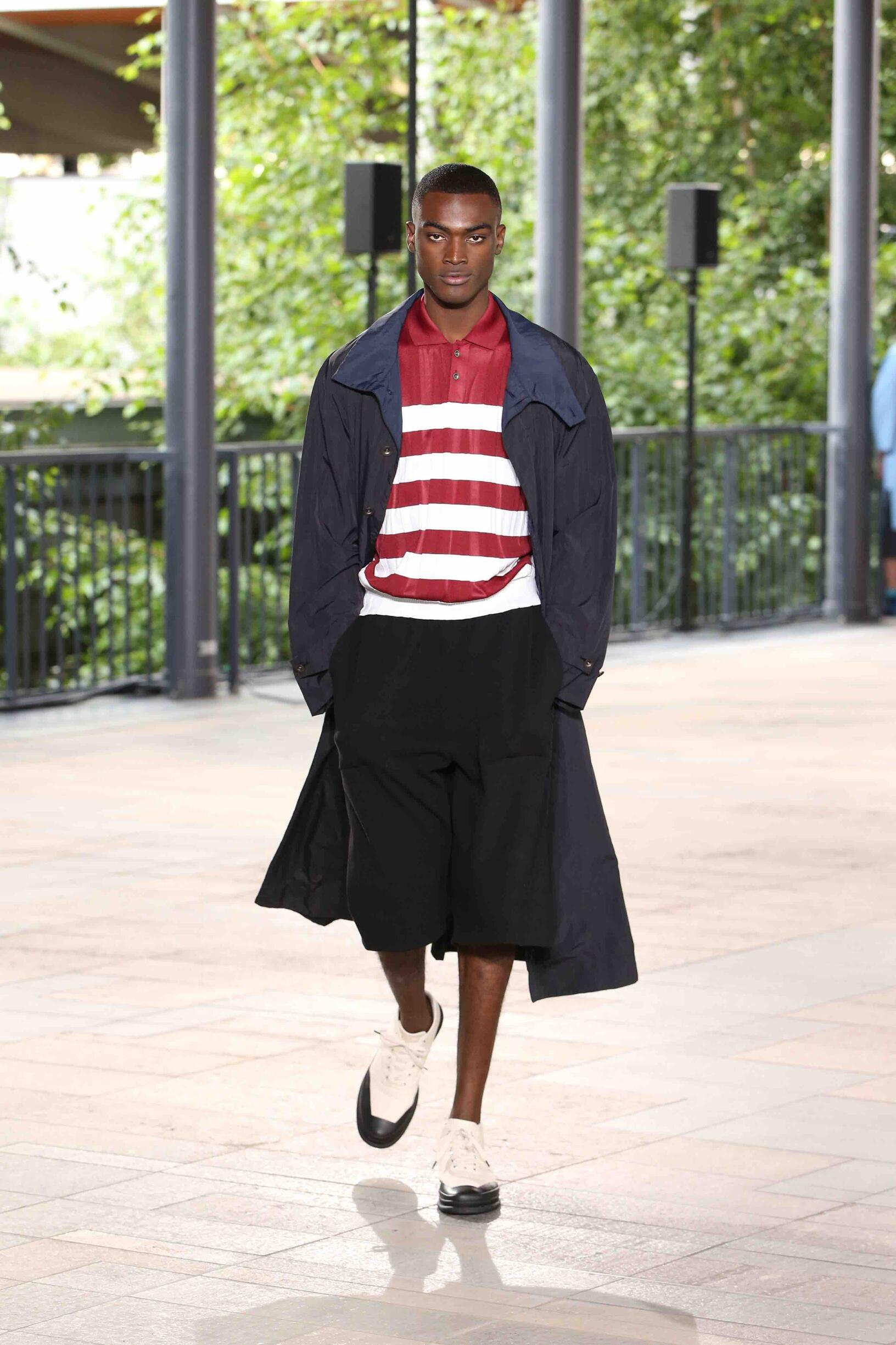 Fashion 2019 Catwalk Issey Miyake Summer Man Collection