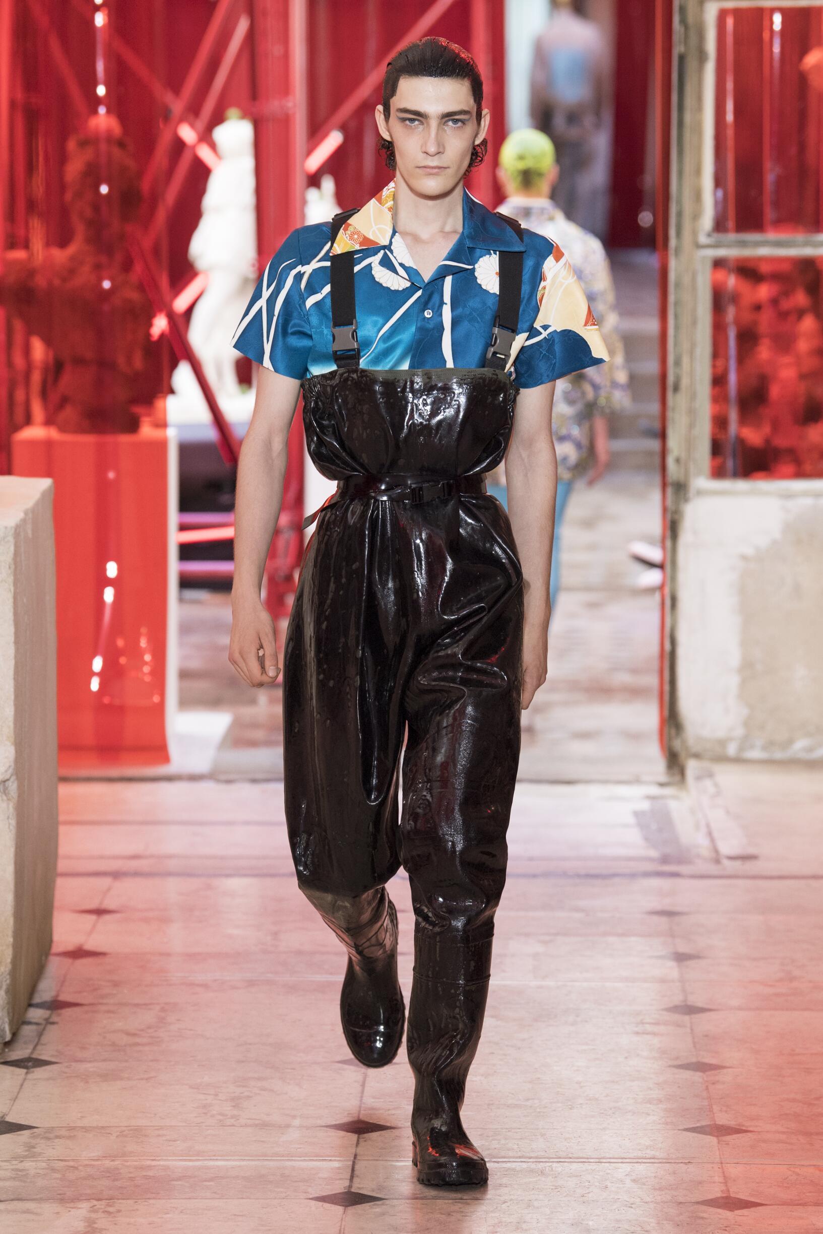 Fashion 2019 Catwalk Maison Margiela Summer Man Collection