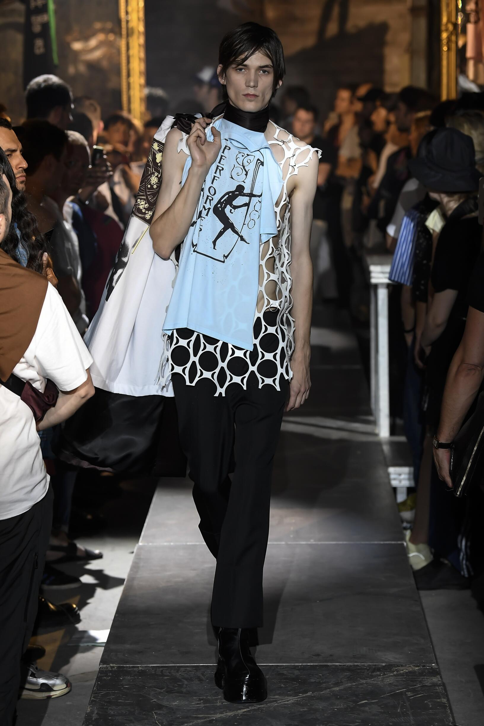 Fashion 2019 Catwalk Raf Simons Summer