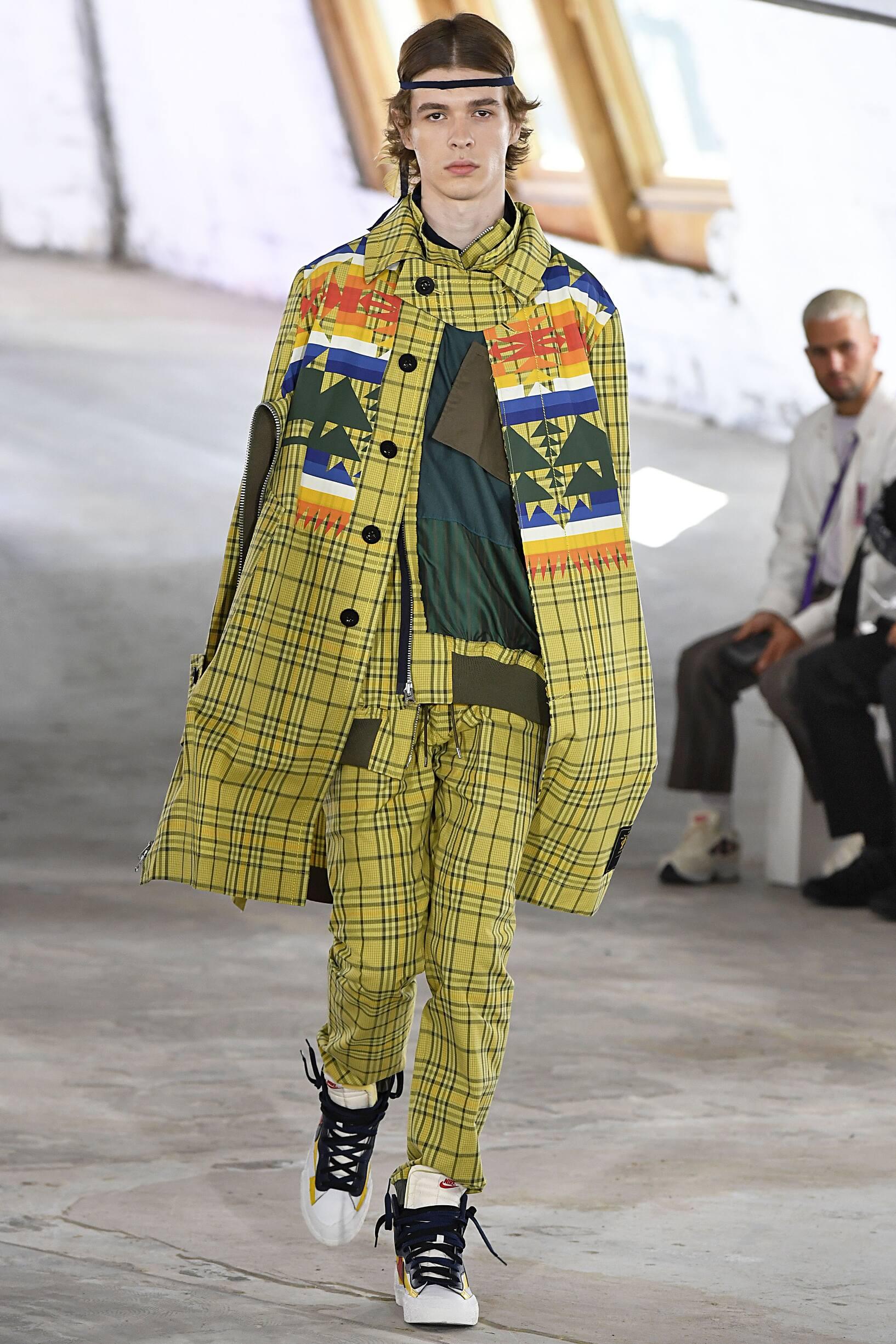 Fashion 2019 Catwalk Sacai Summer