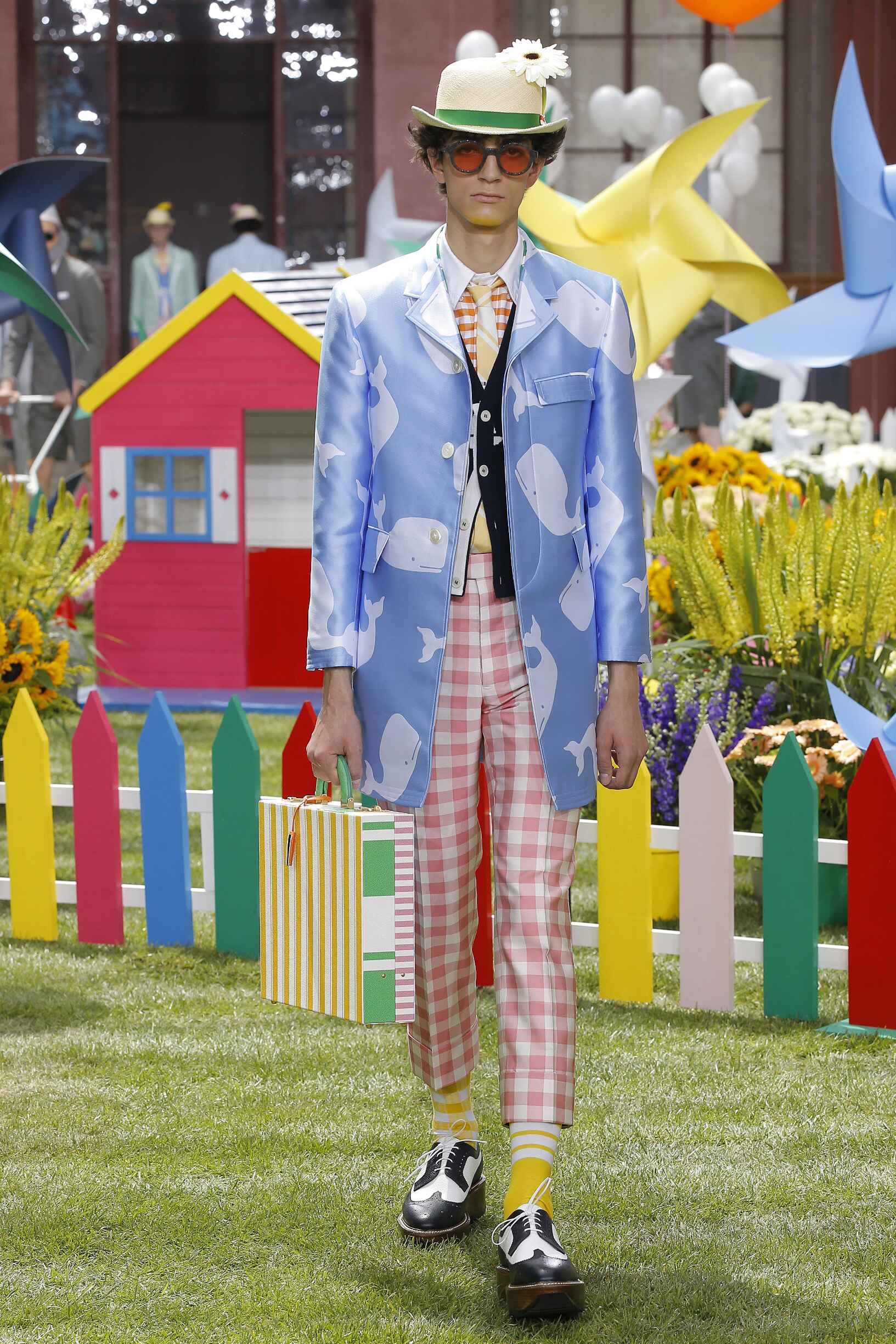 Fashion 2019 Catwalk Thom Browne Summer Man Collection