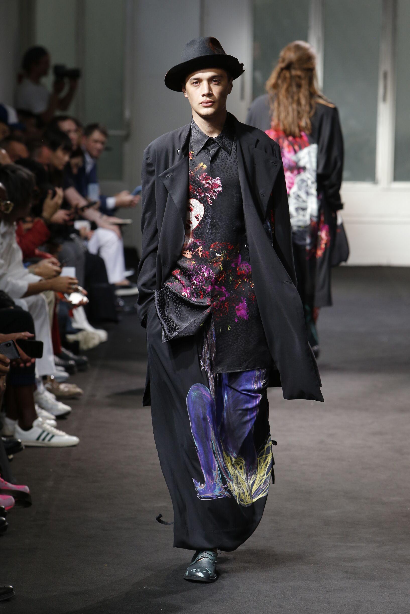 Fashion 2019 Catwalk Yohji Yamamoto Summer Man Collection