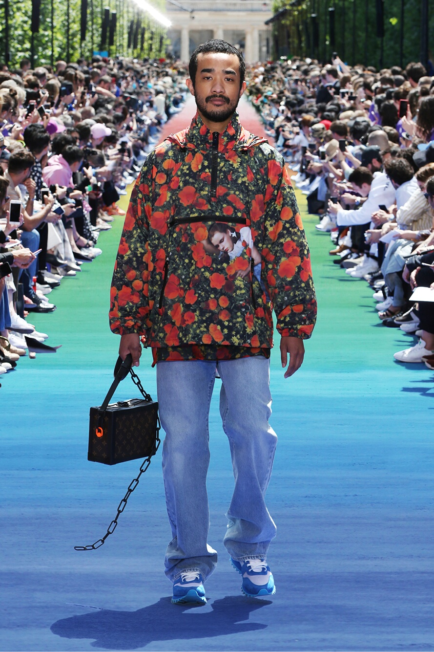 Fashion 2019 Runway Man Louis Vuitton Summer
