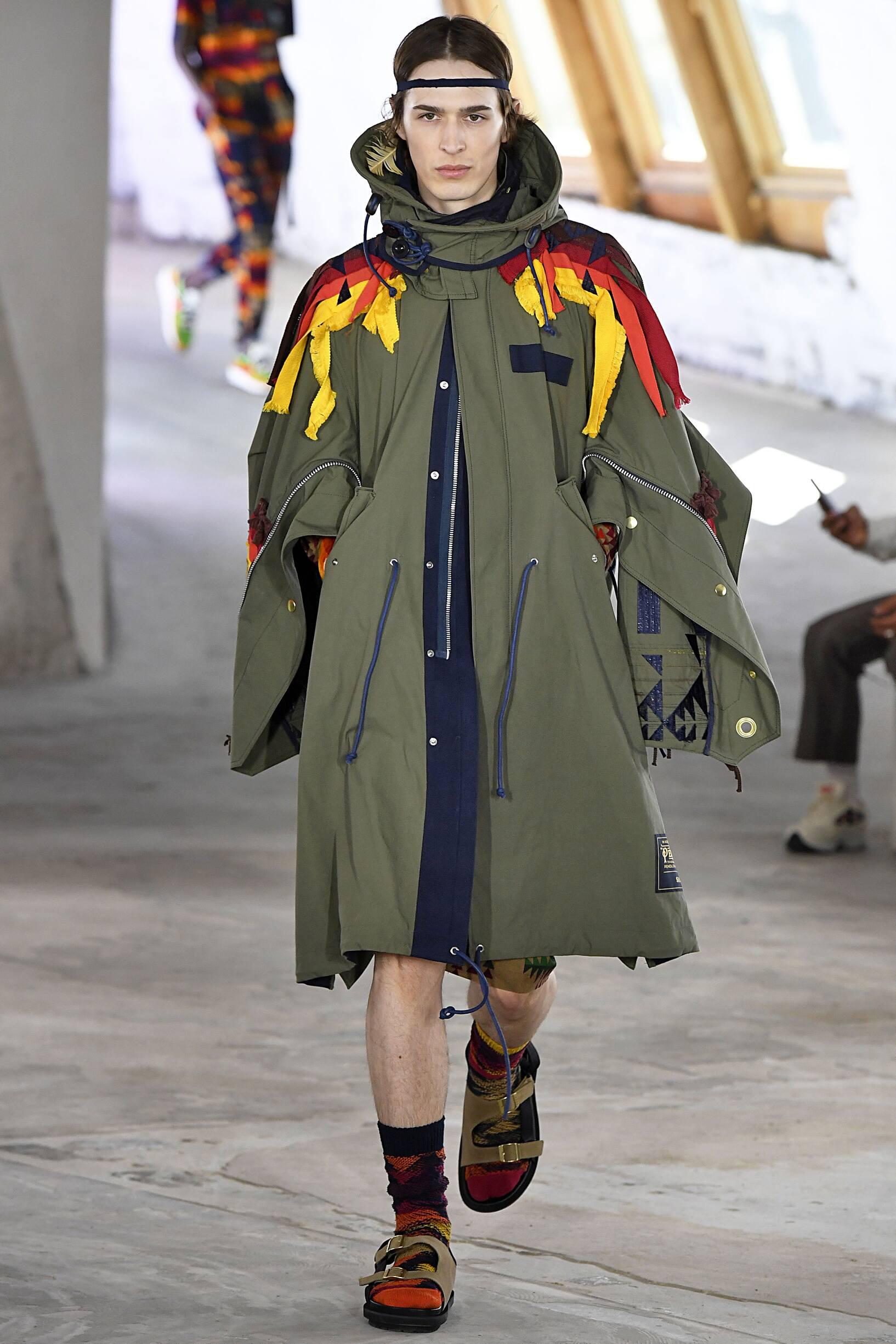 Fashion 2019 Runway Man Sacai Summer