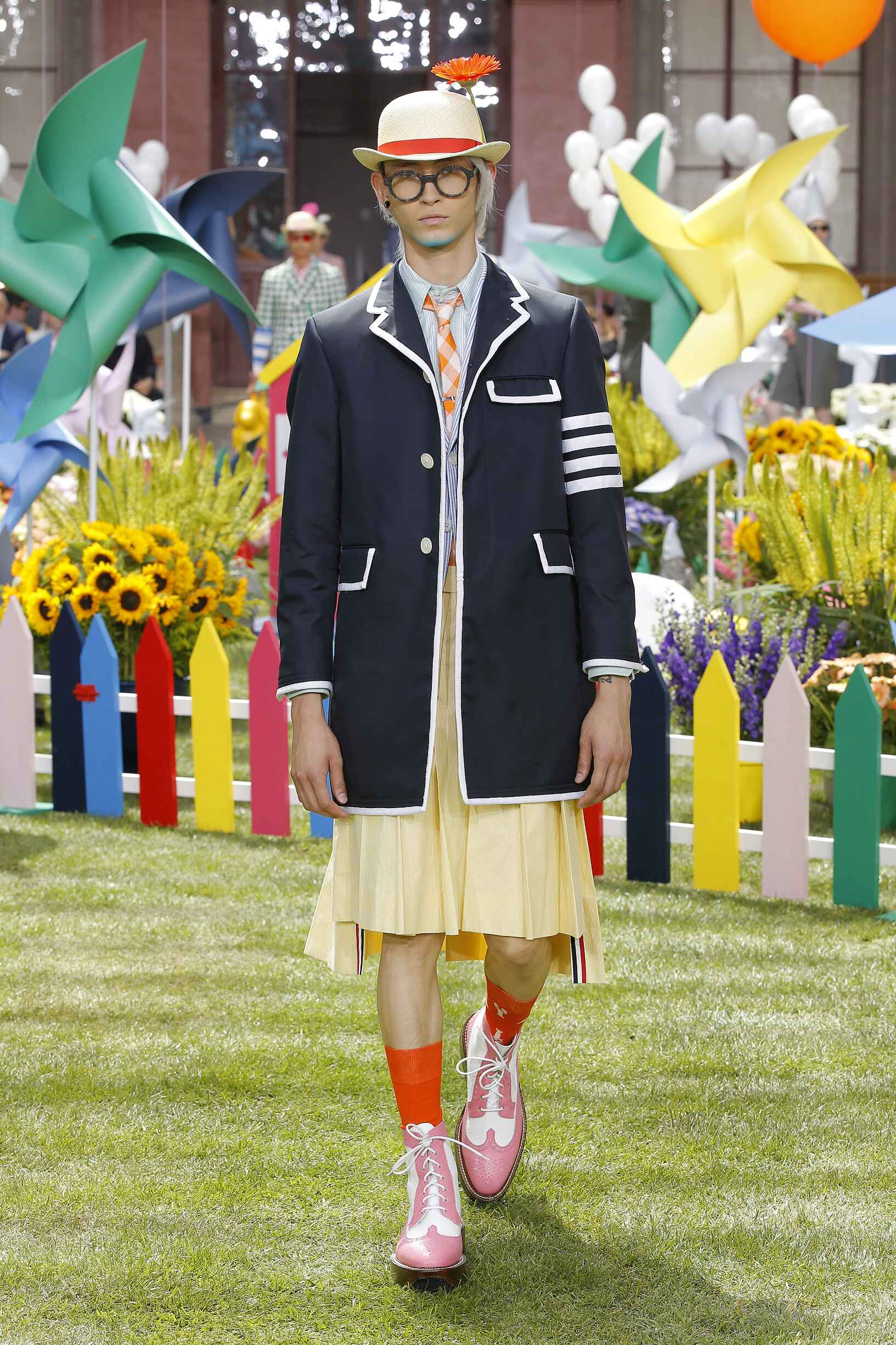Fashion 2019 Runway Man Thom Browne Summer