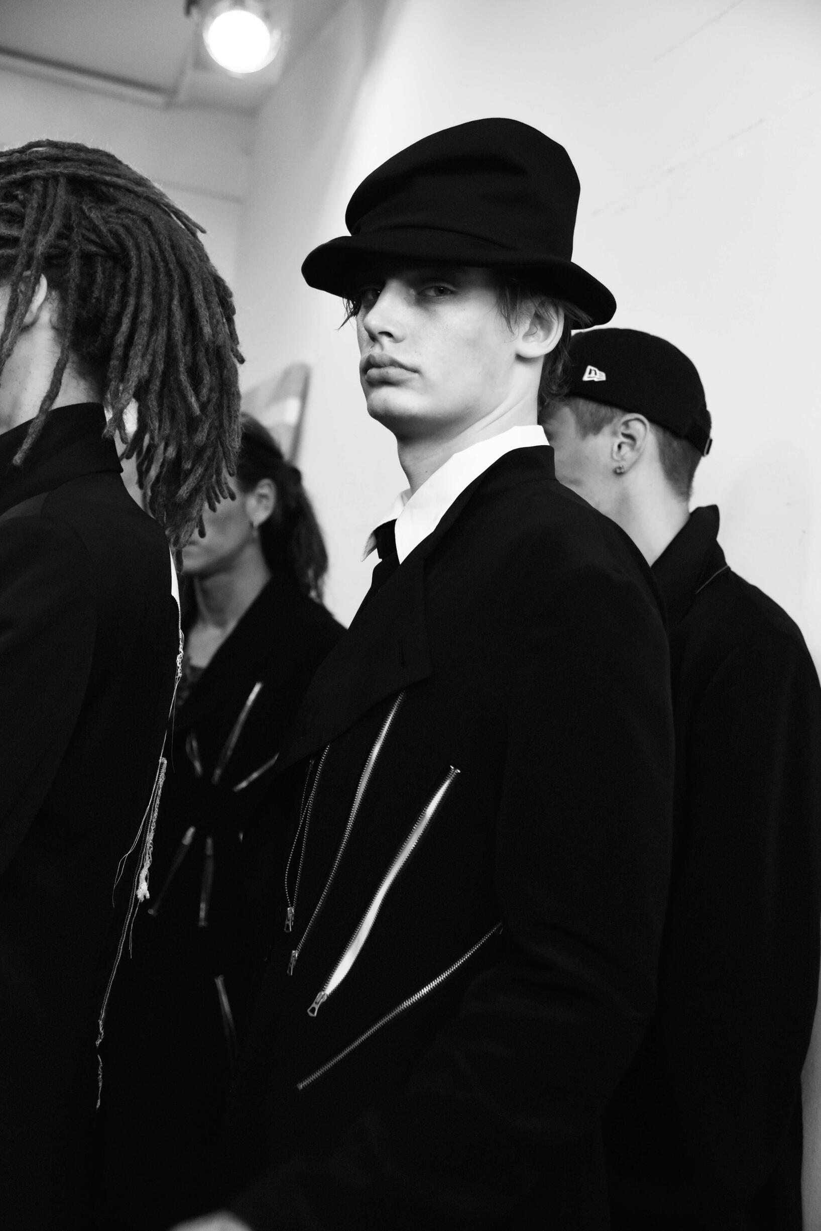 Fashion Backstage Yohji Yamamoto