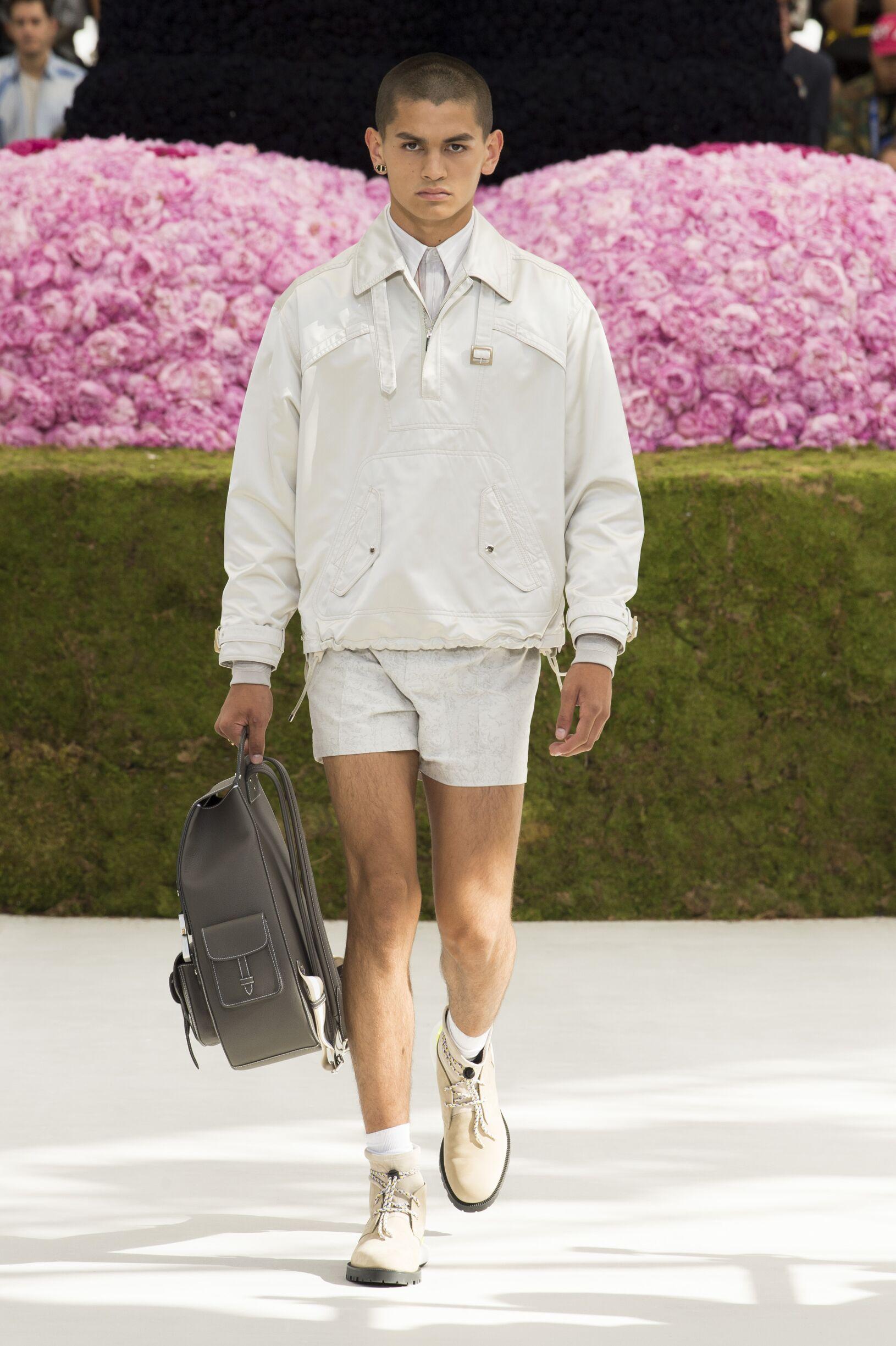 Fashion Model Dior Catwalk