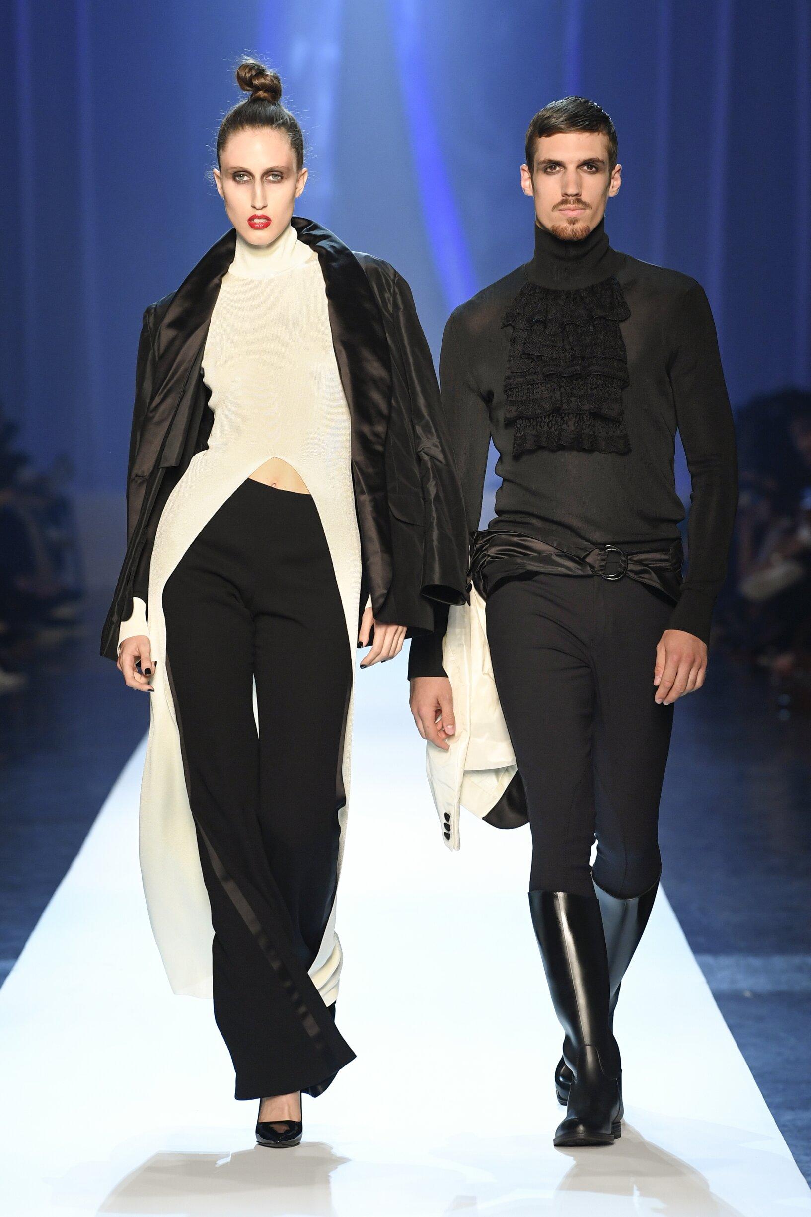 Fashion Models Jean-Paul Gaultier Haute Couture Catwalk