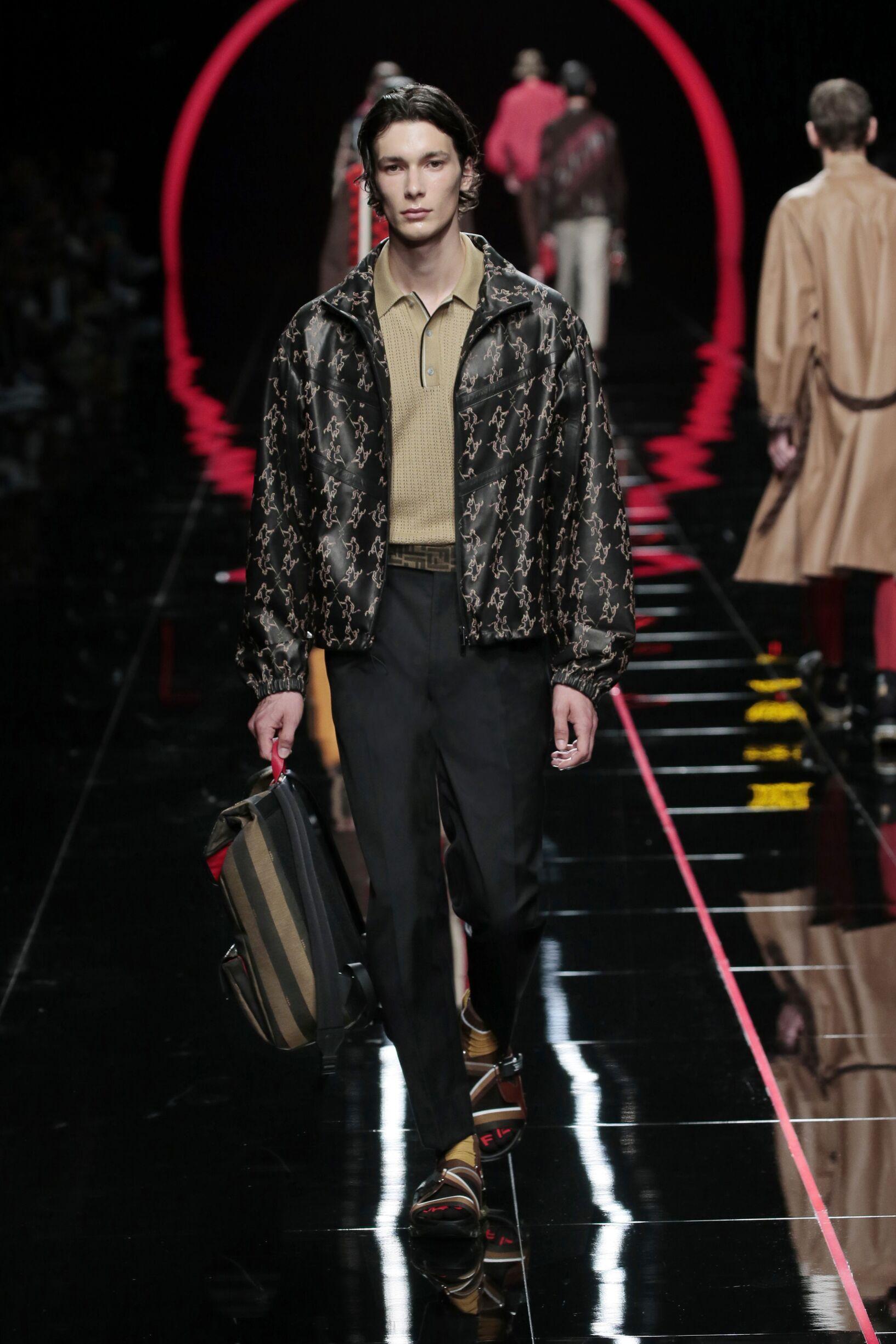 Fendi Milan Fashion Week Menswear