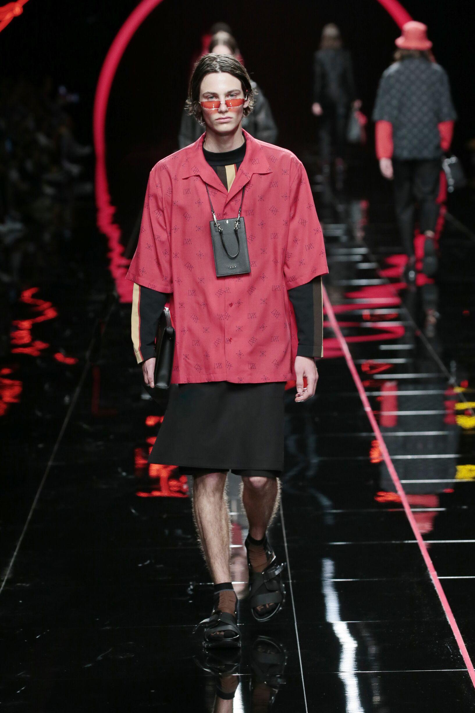 Fendi Spring Summer 2019 Mens Collection Milan Fashion Week