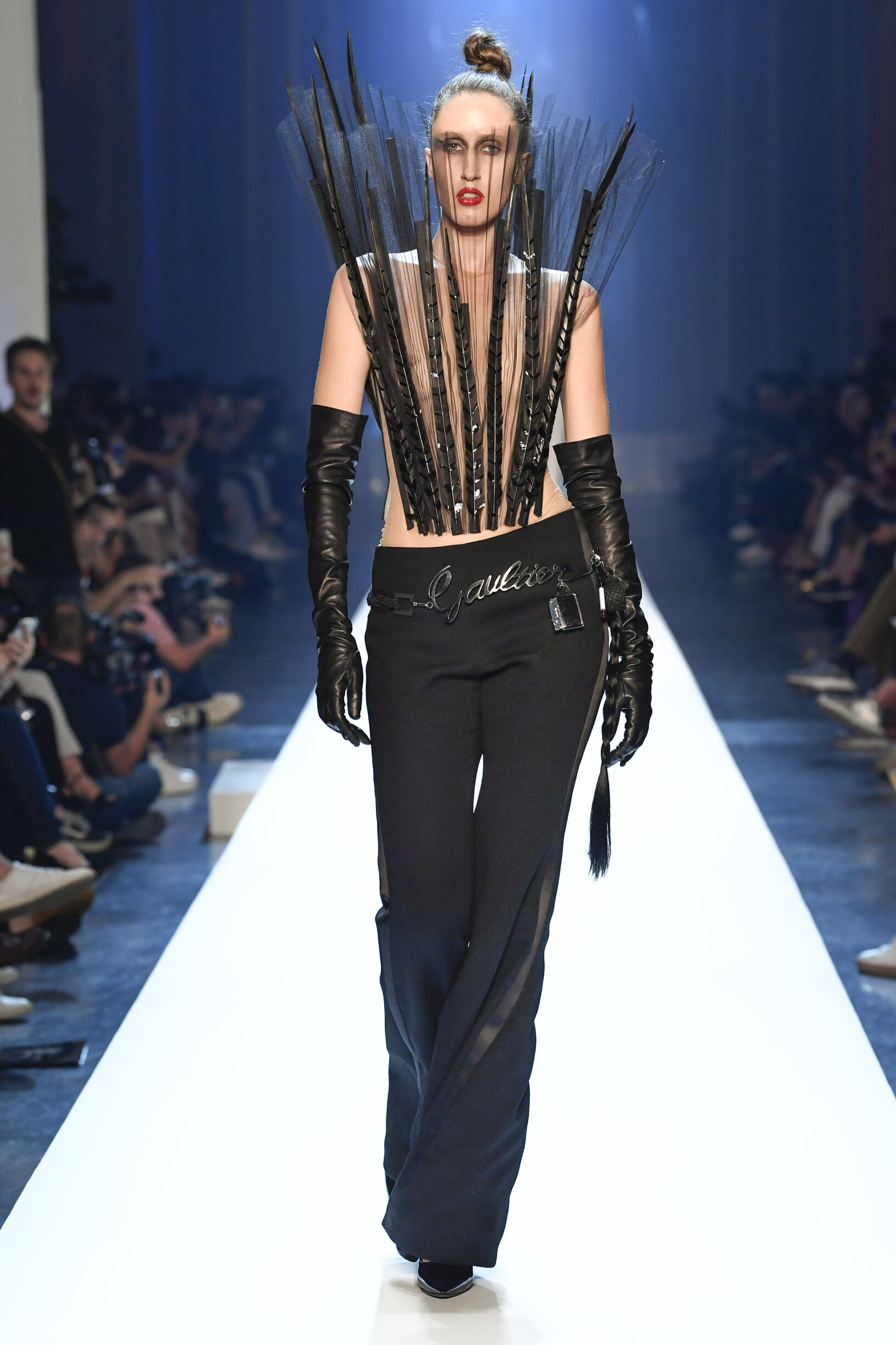 Jean-Paul Gaultier Haute Couture Womenswear Collection Trends Winter