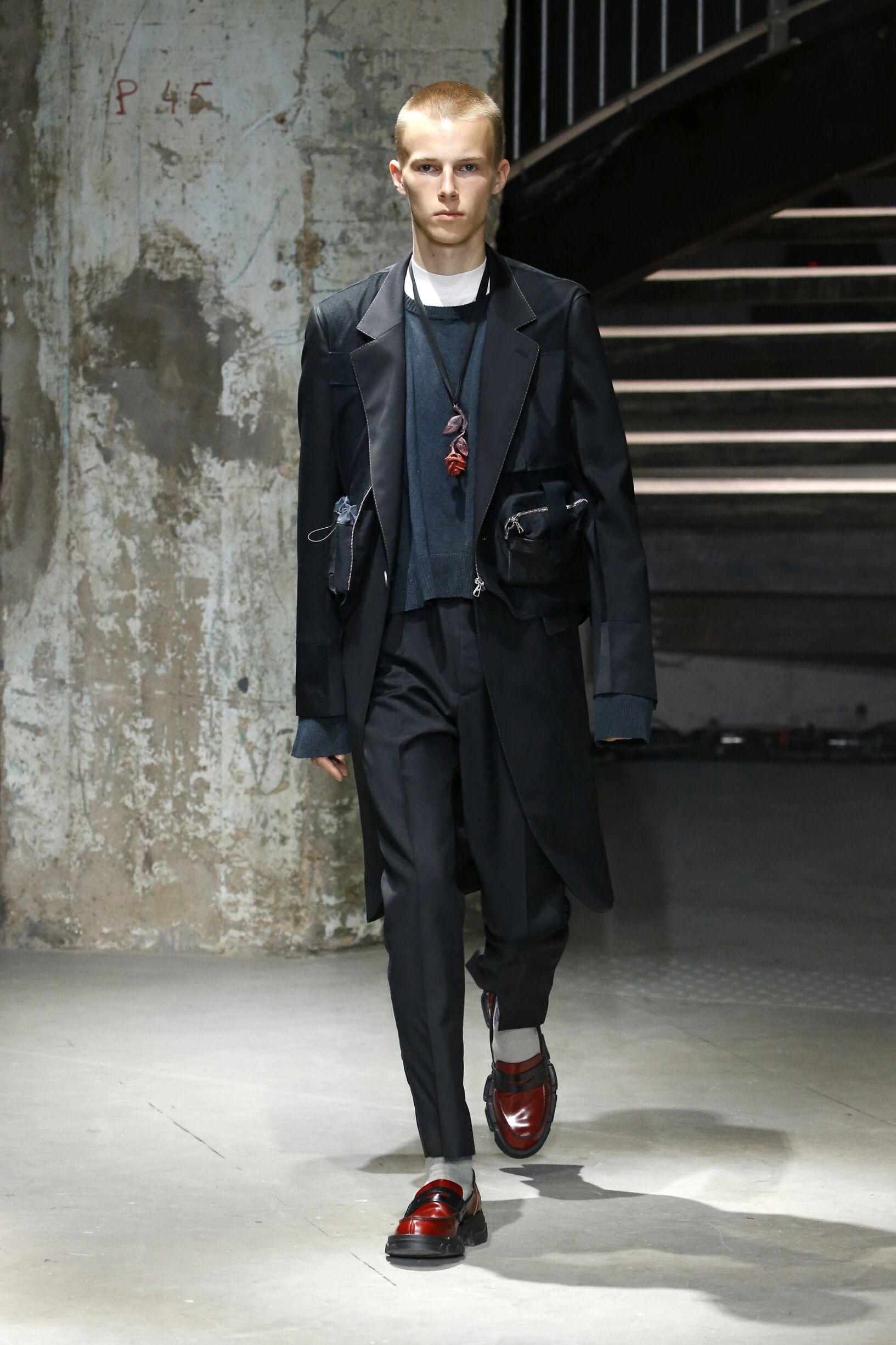 Lanvin Paris Fashion Week Menswear