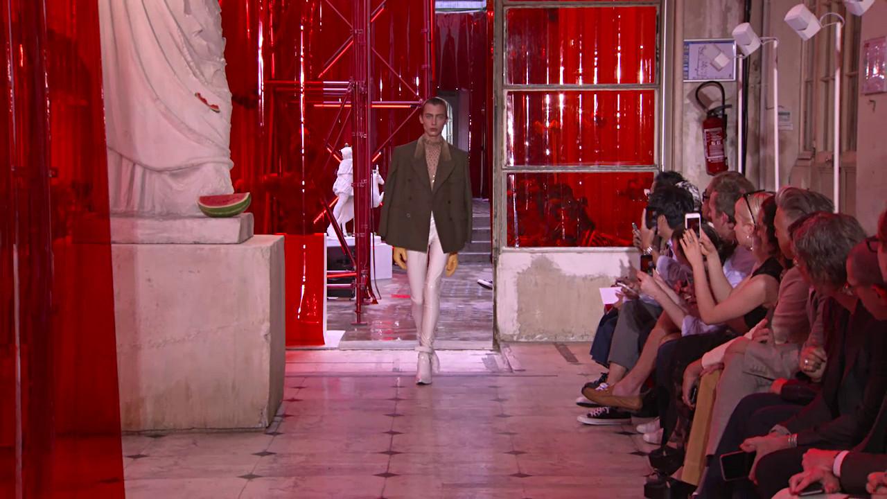 Maison Margiela Spring Summer Men' Collection 2019 - Paris Fashion Show