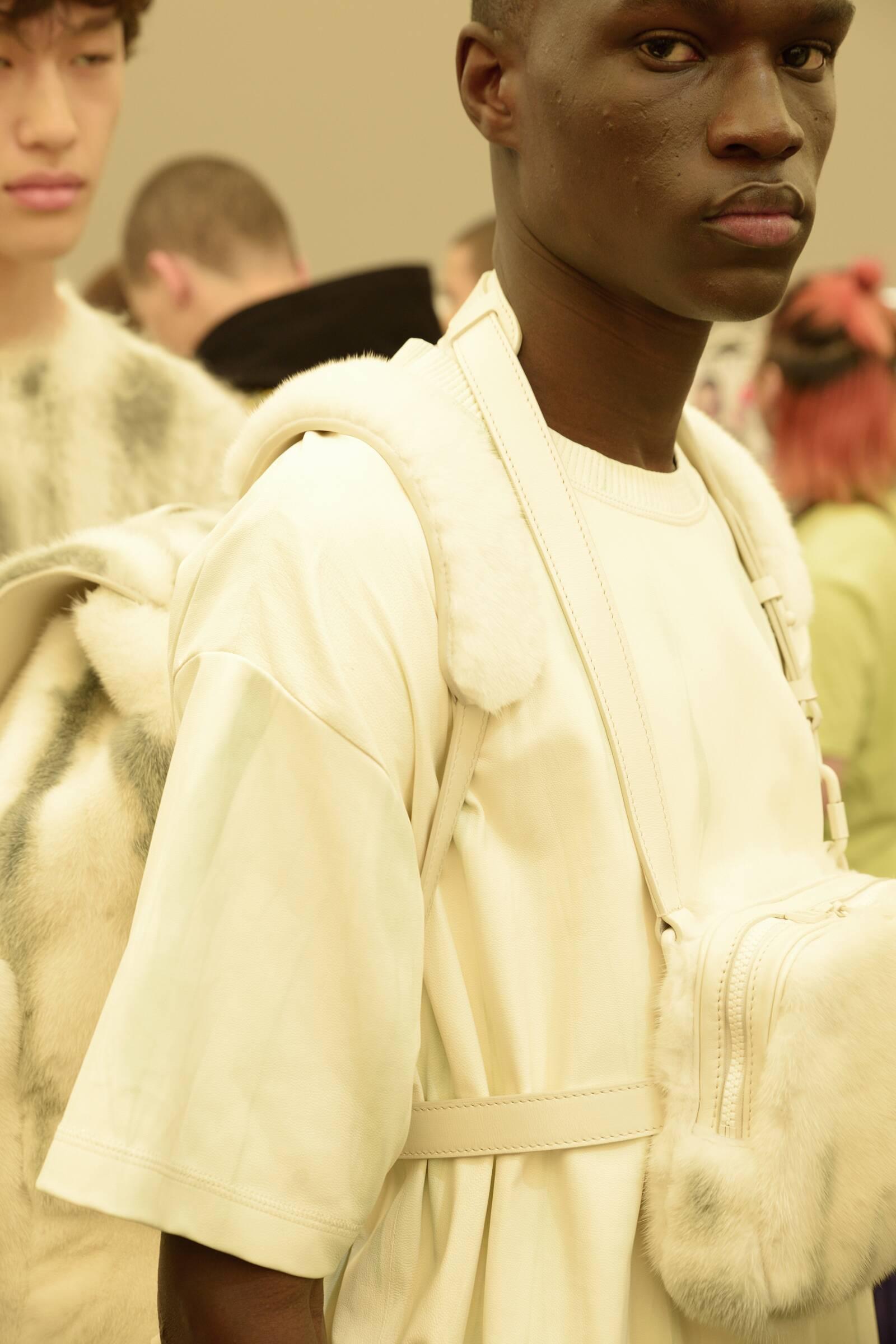 Man 2019 Fashion Backstage Louis Vuitton