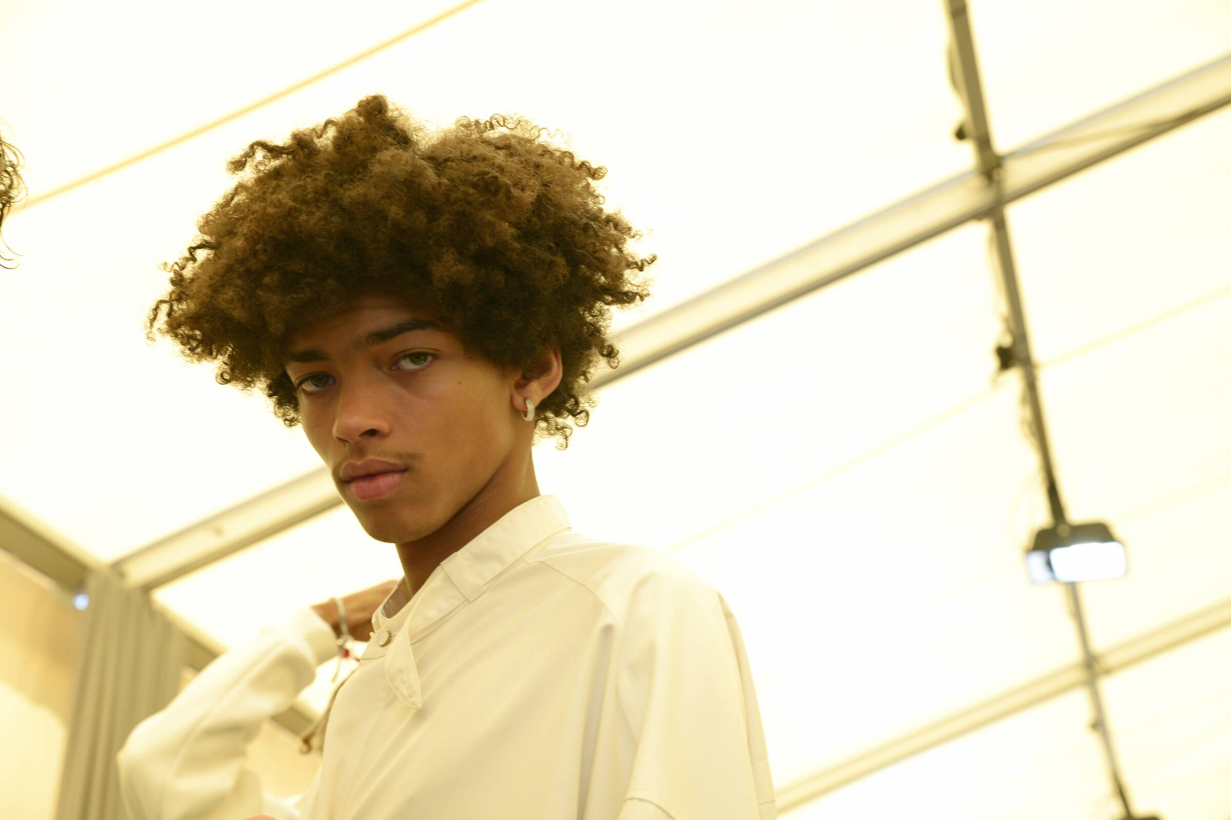 Man Model 2019 Backstage Louis Vuitton