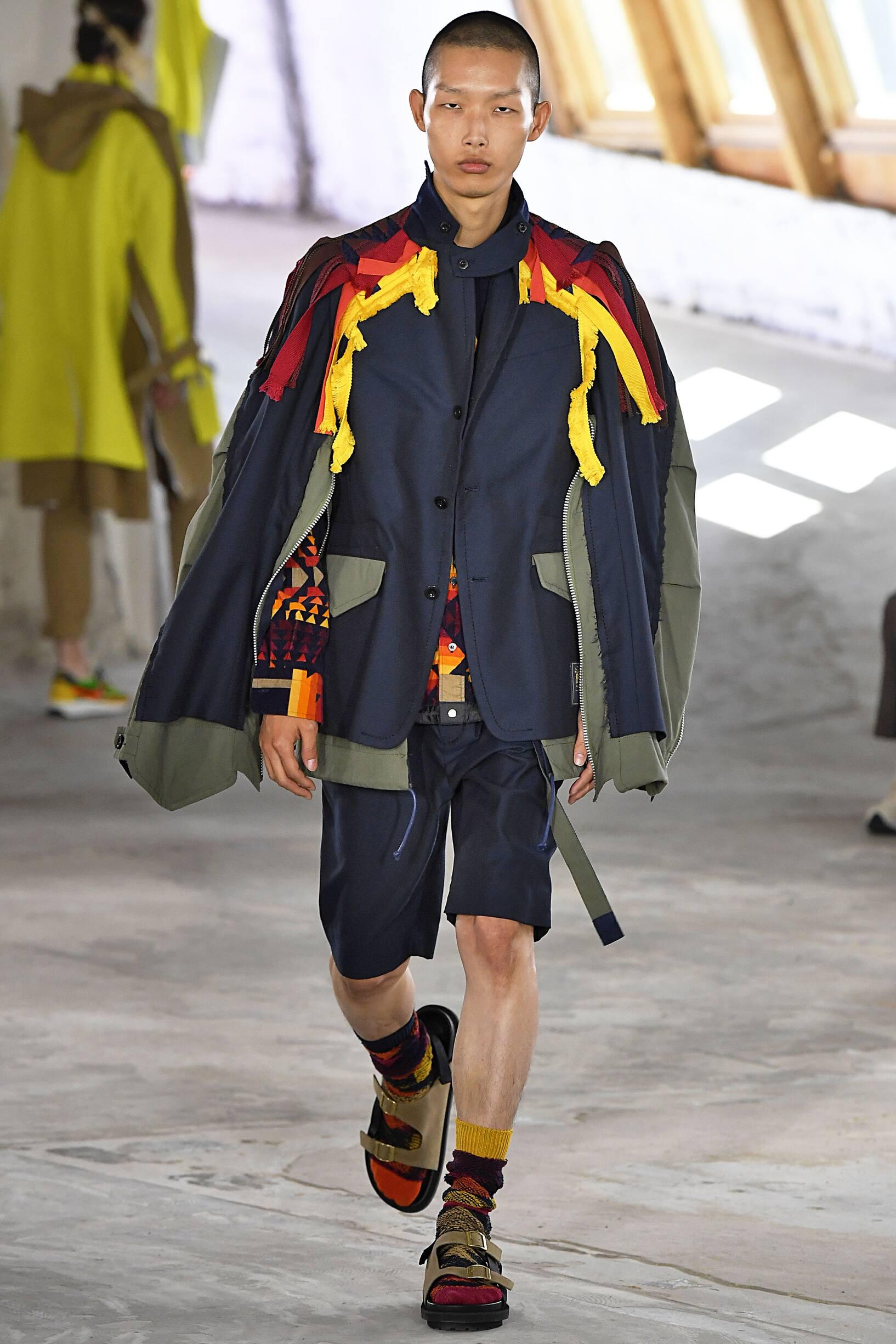 Menswear Spring Summer Sacai 2019 Trends
