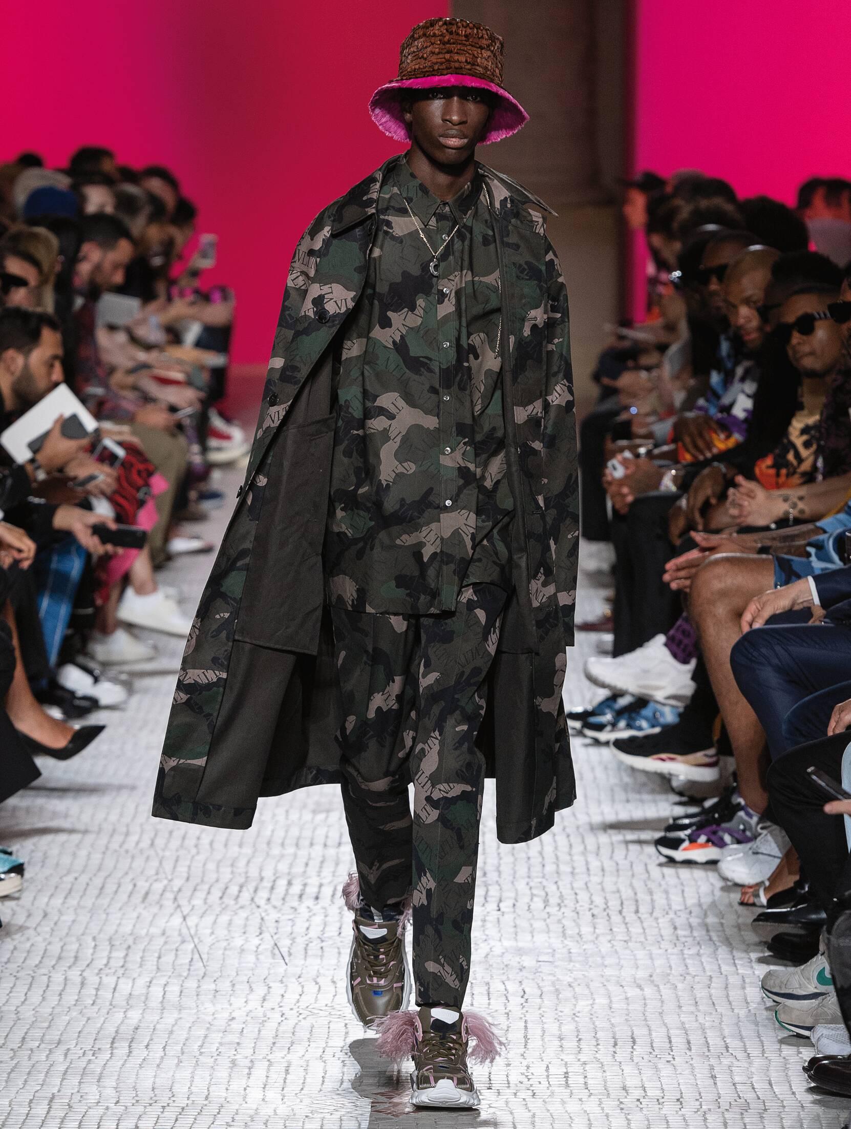 Menswear Spring Summer Valentino 2019