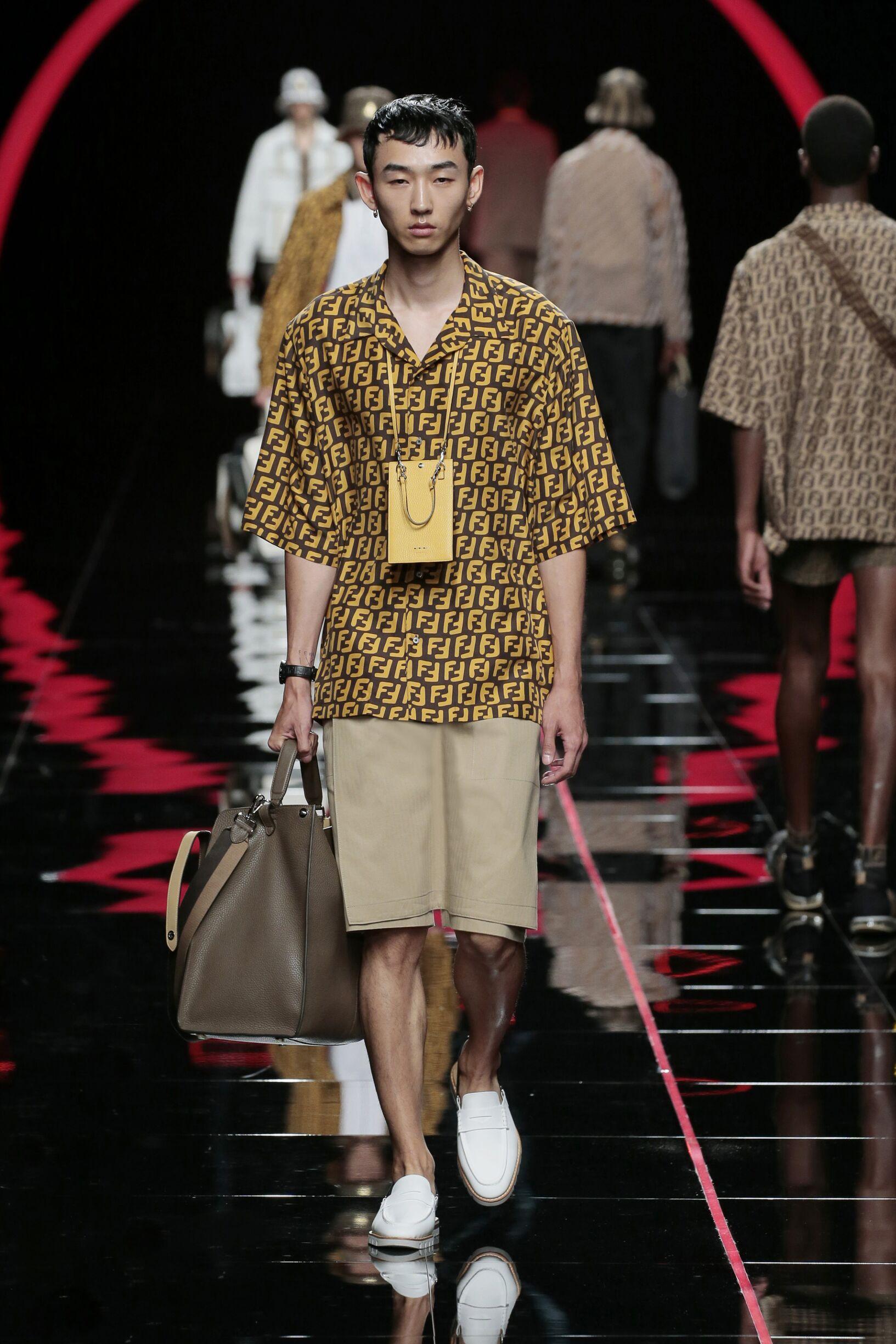 Menswear Summer Fendi 2019