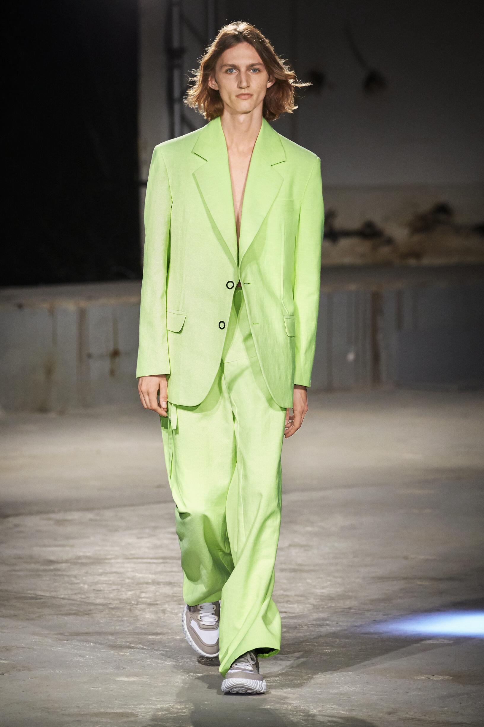 Model Fashion Show Acne Studios