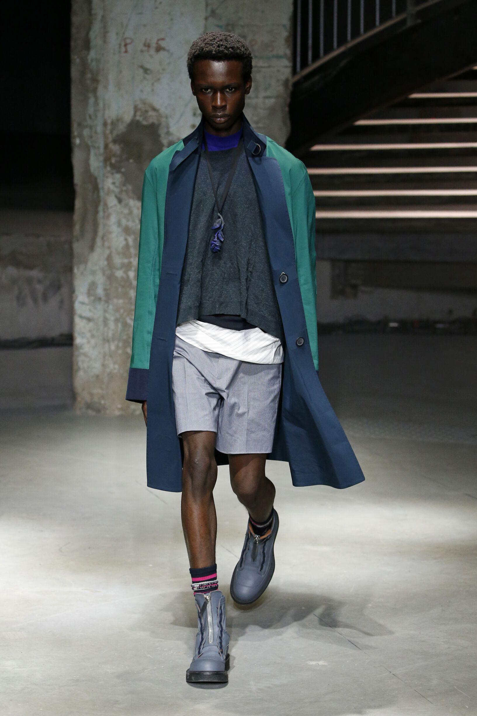 Model Fashion Show Lanvin