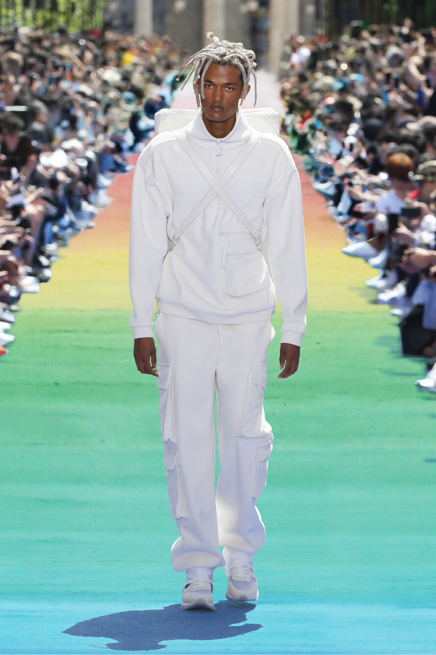 Model Fashion Show Louis Vuitton